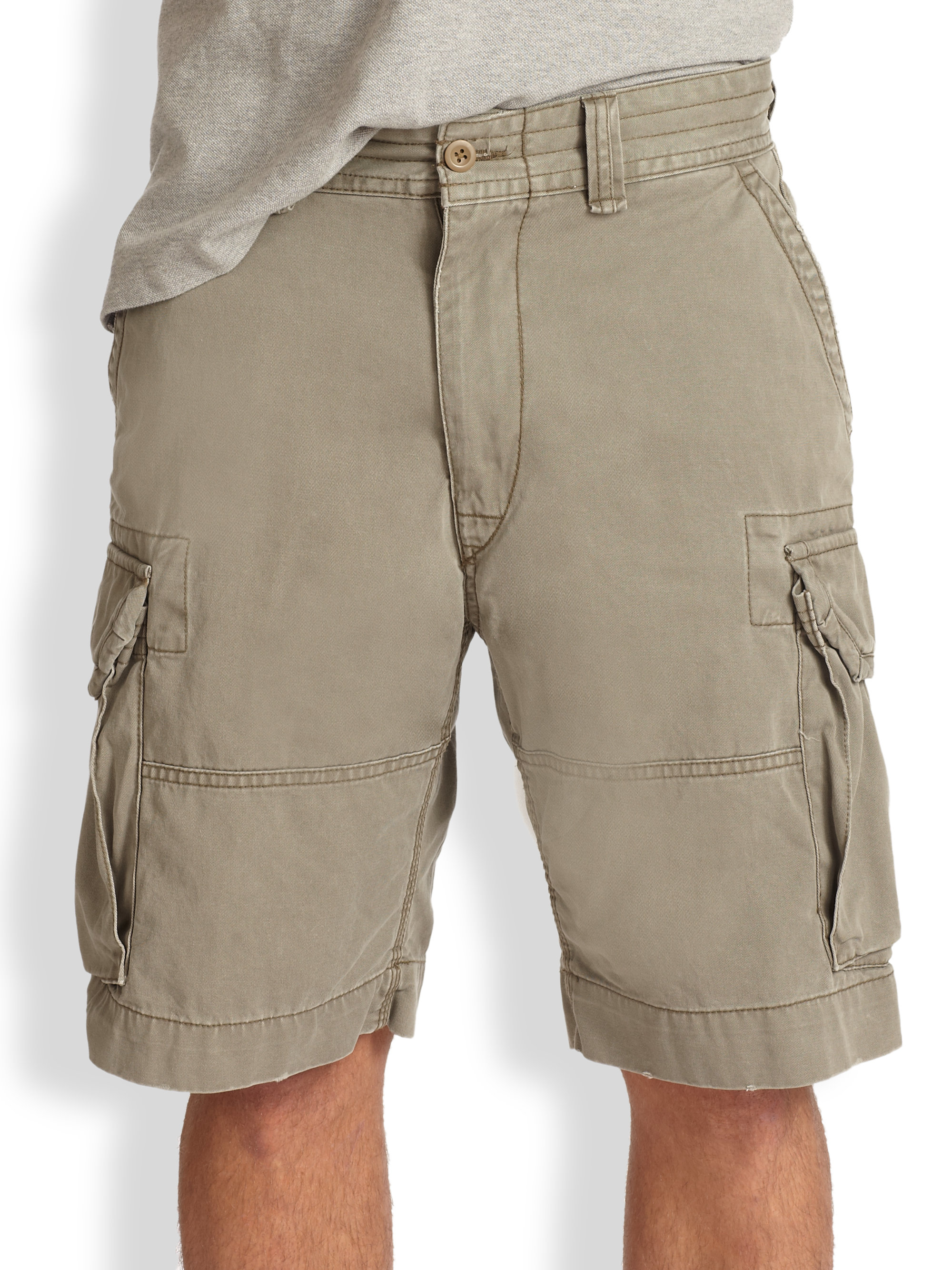 Polo ralph lauren Gellar Classic Cargo Shorts in Green for Men | Lyst