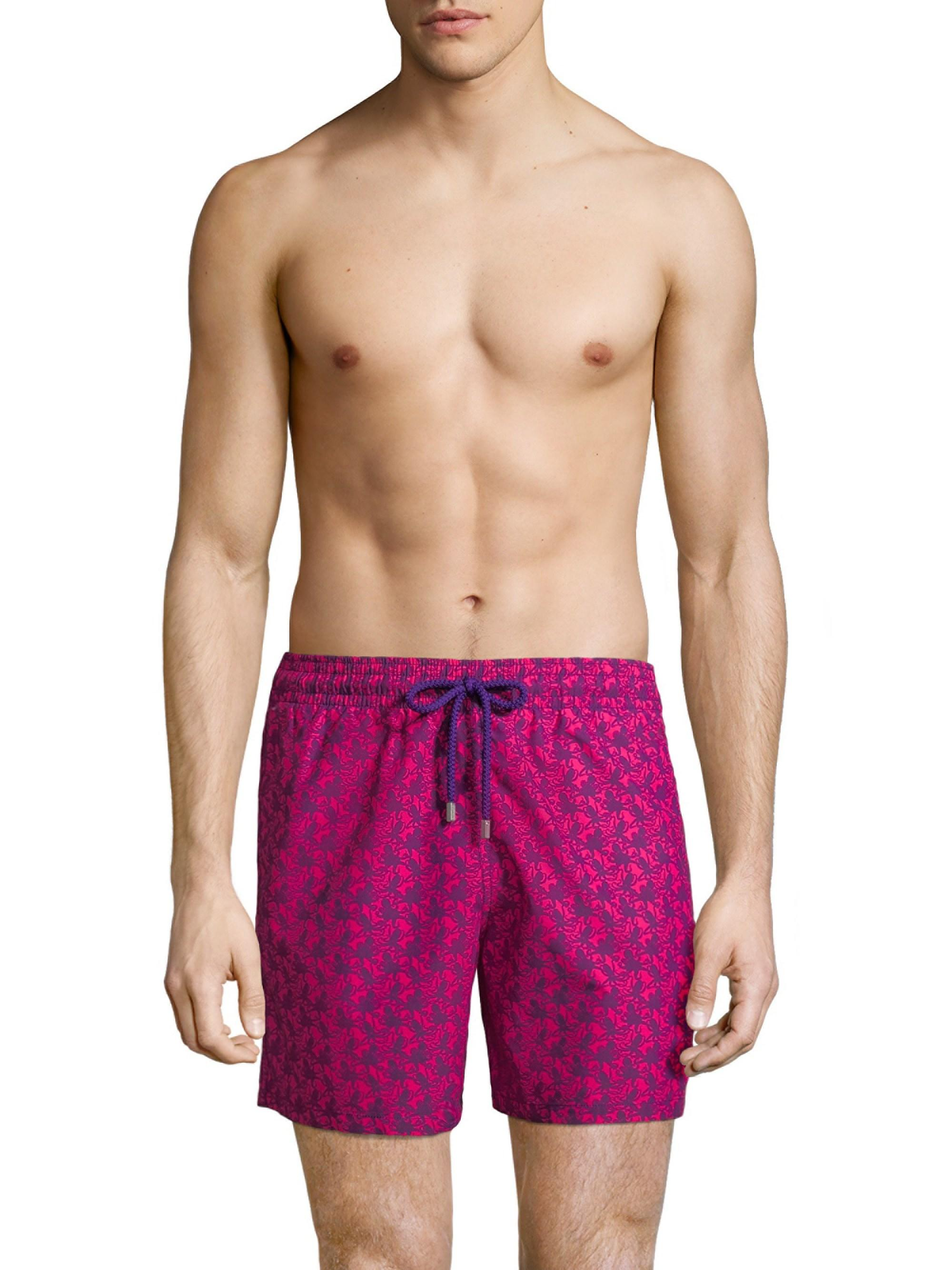 903950ea8b8bf Vilebrequin - Multicolor Men's Octopus Swim Shorts - Rose Chock for Men -  Lyst. View fullscreen