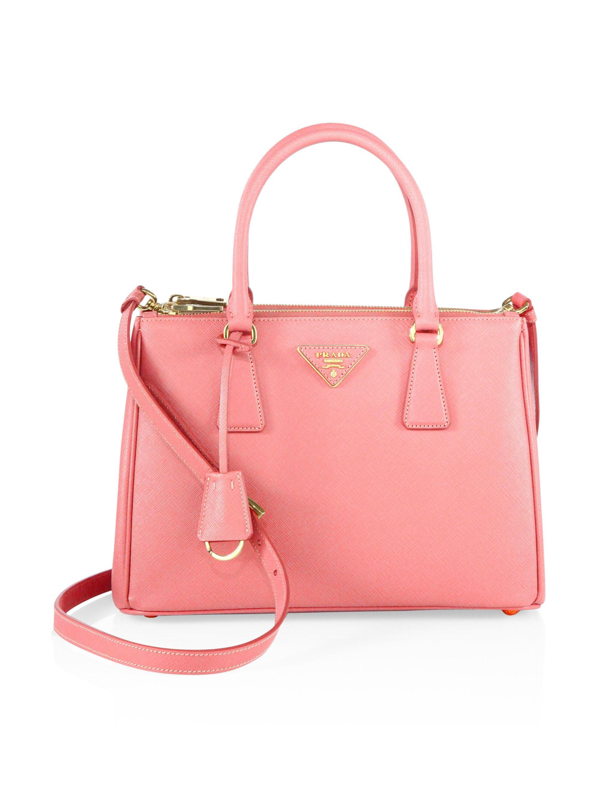 c5c9c90efc61 Prada. Pink Women's Small Galleria Tote - Black. $2,350 From Saks Fifth  Avenue