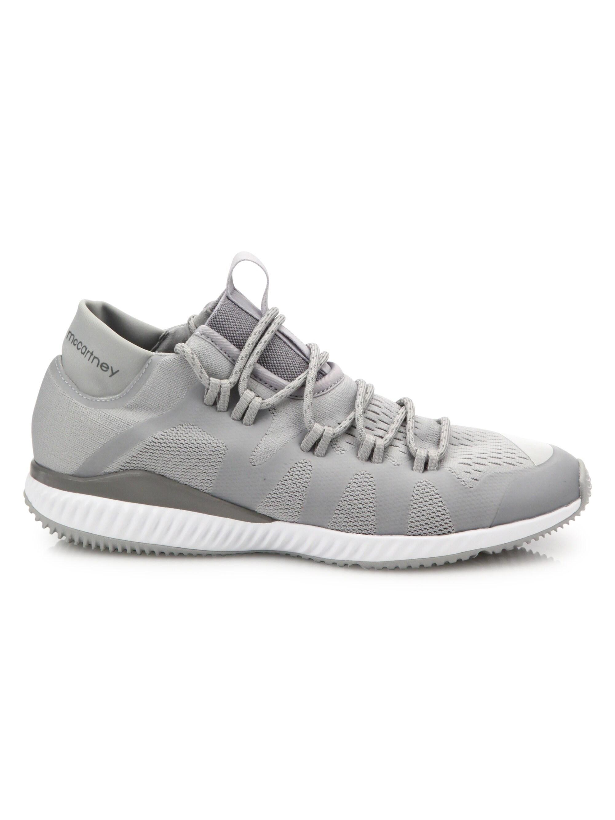 117a2f93c Lyst - adidas By Stella McCartney Women s Crazymove Bounce Mid-top ...