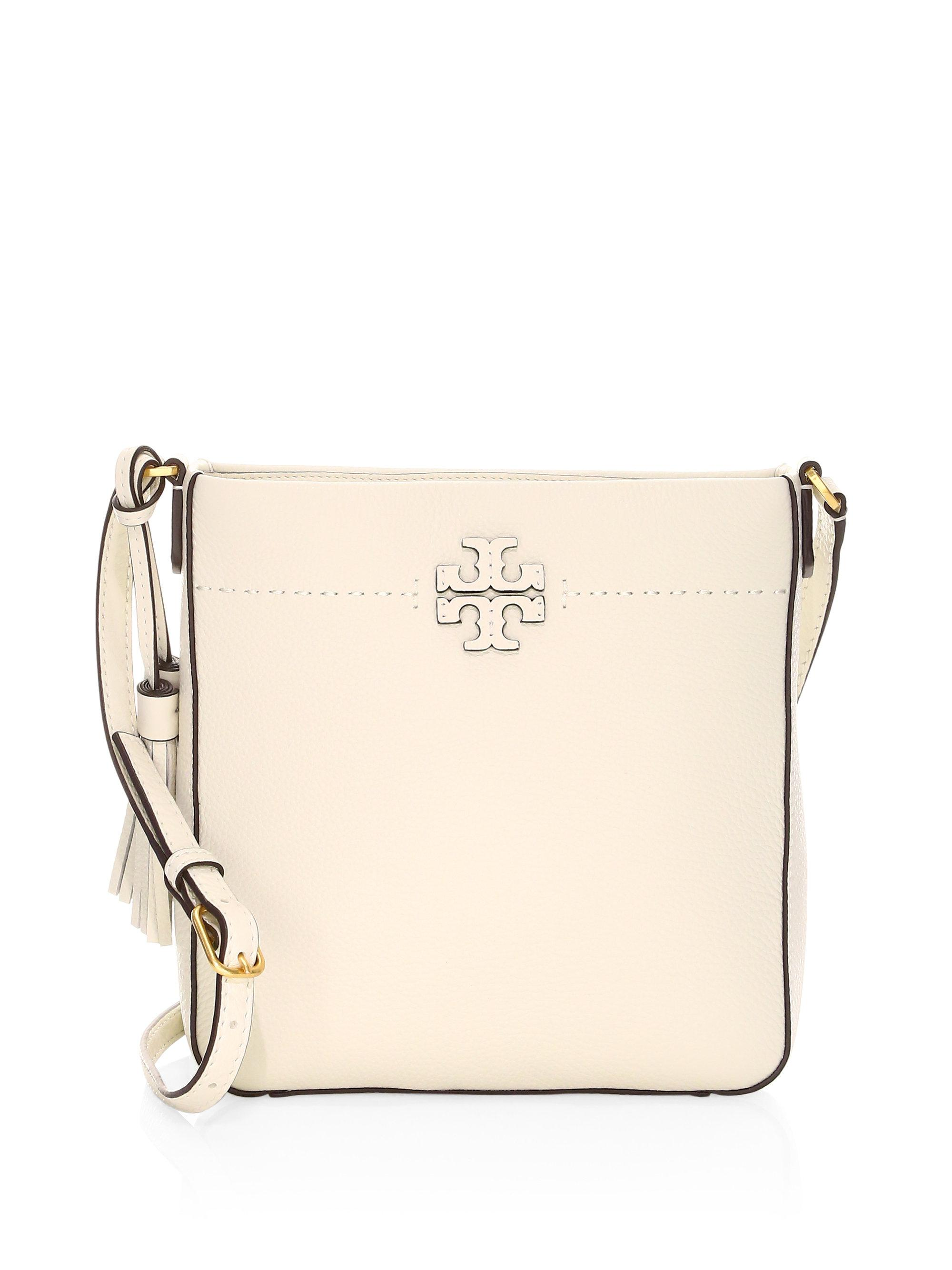 81ce086e7 Tory Burch Mcgraw Swingpack Crossbody Bag in Natural - Lyst
