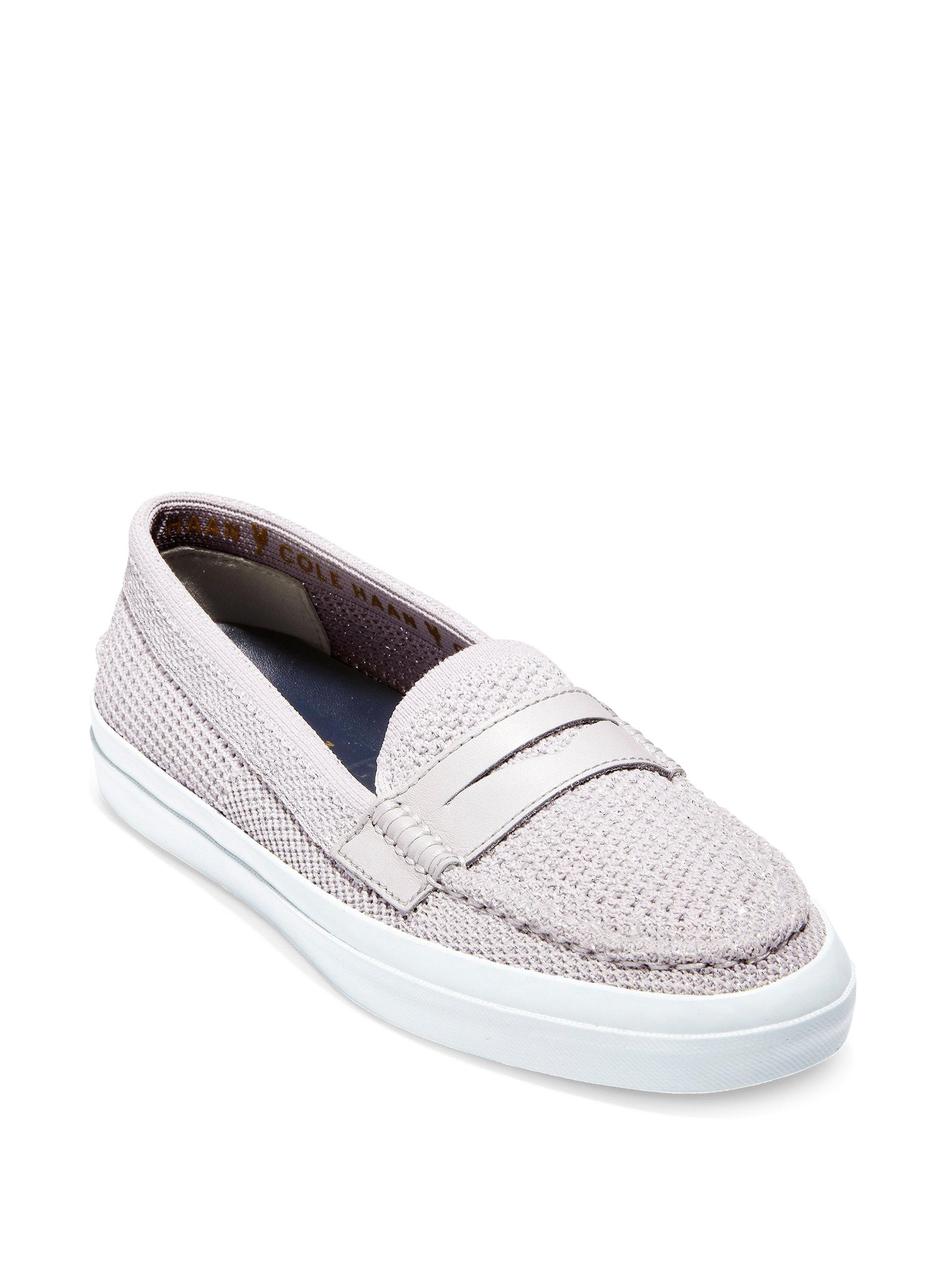 Cole Haan Pinch Weekender Metallic Cotton Penny Loafers cHaTXb6dN