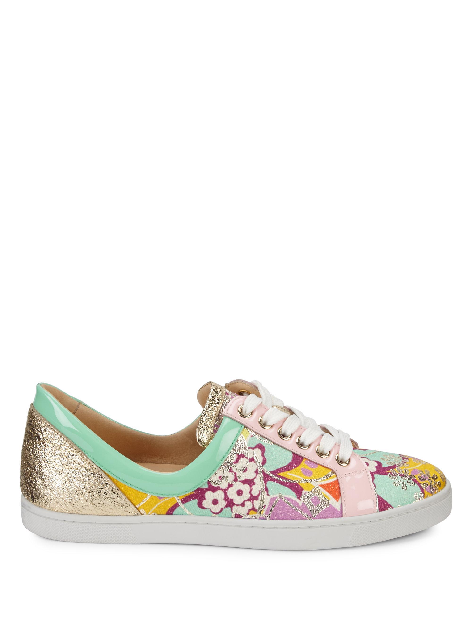 1926335c4069 Lyst - Christian Louboutin Flamingirl Glitter Sneakers