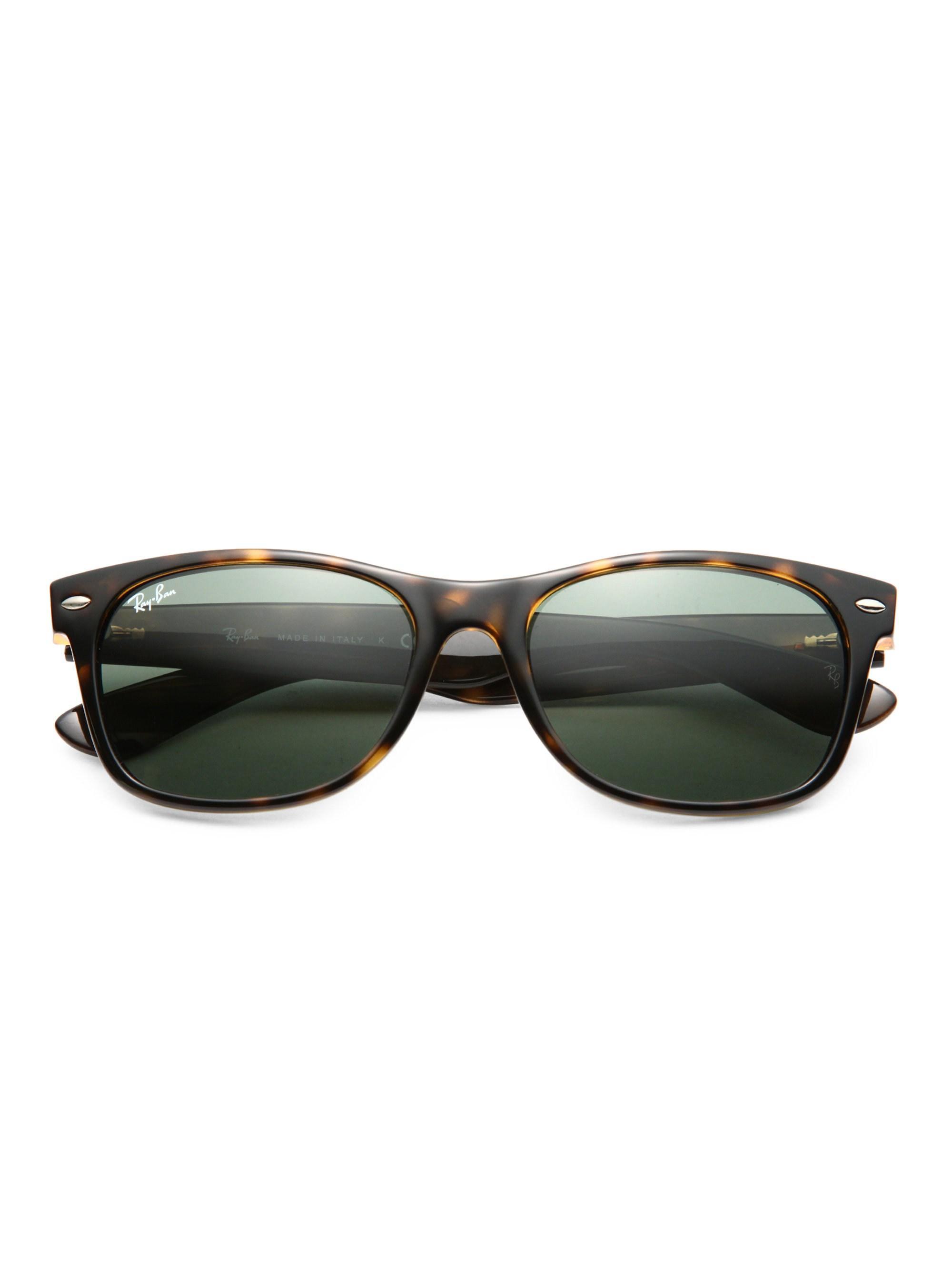 b3304672ef Lyst - Ray-Ban 55mm New Wayfarer Sunglasses in Black for Men