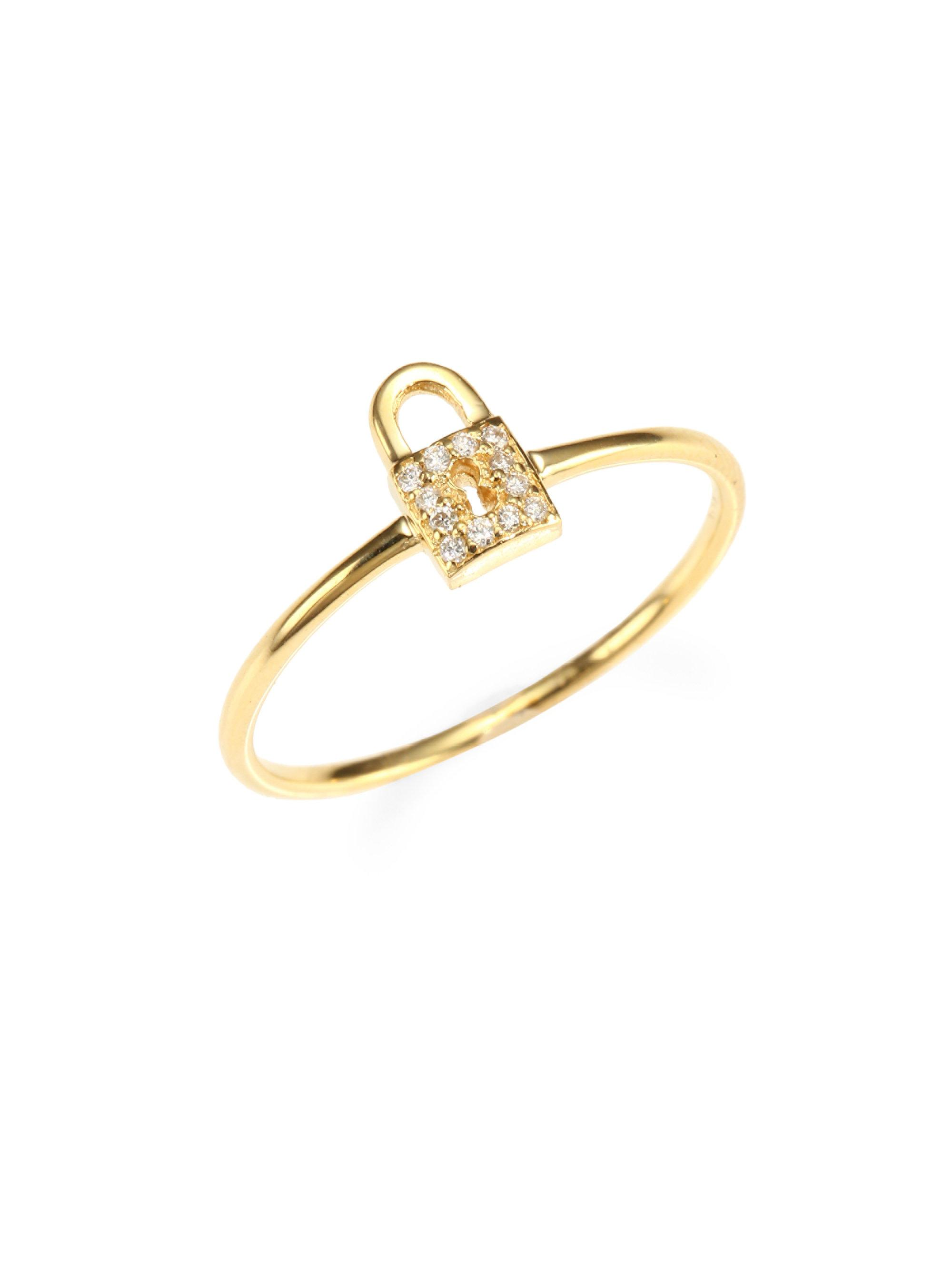 Sydney Evan 14kt yellow gold love ring - Metallic oS2r799