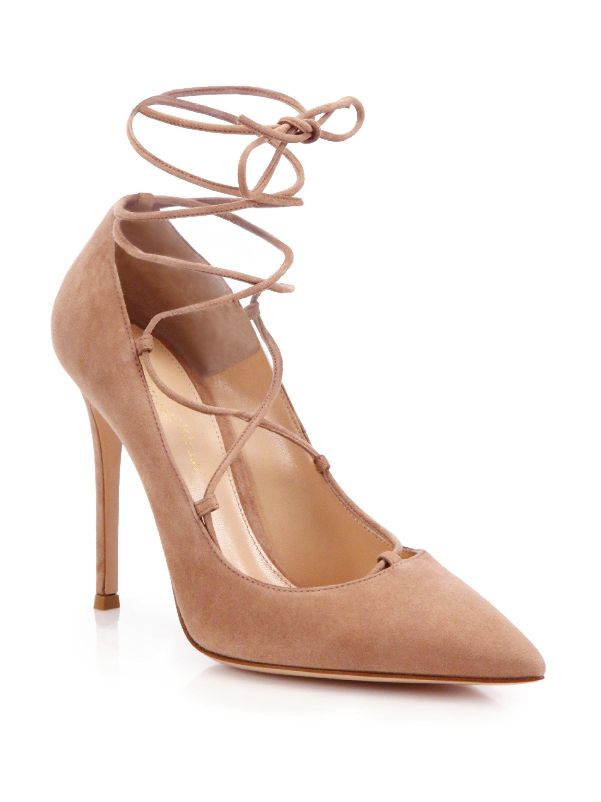 Clearance Free Shipping Pumps Femi suede blue Gianvito Rossi Low Shipping Fee Sale Online Cheap Eastbay ZjlFJ