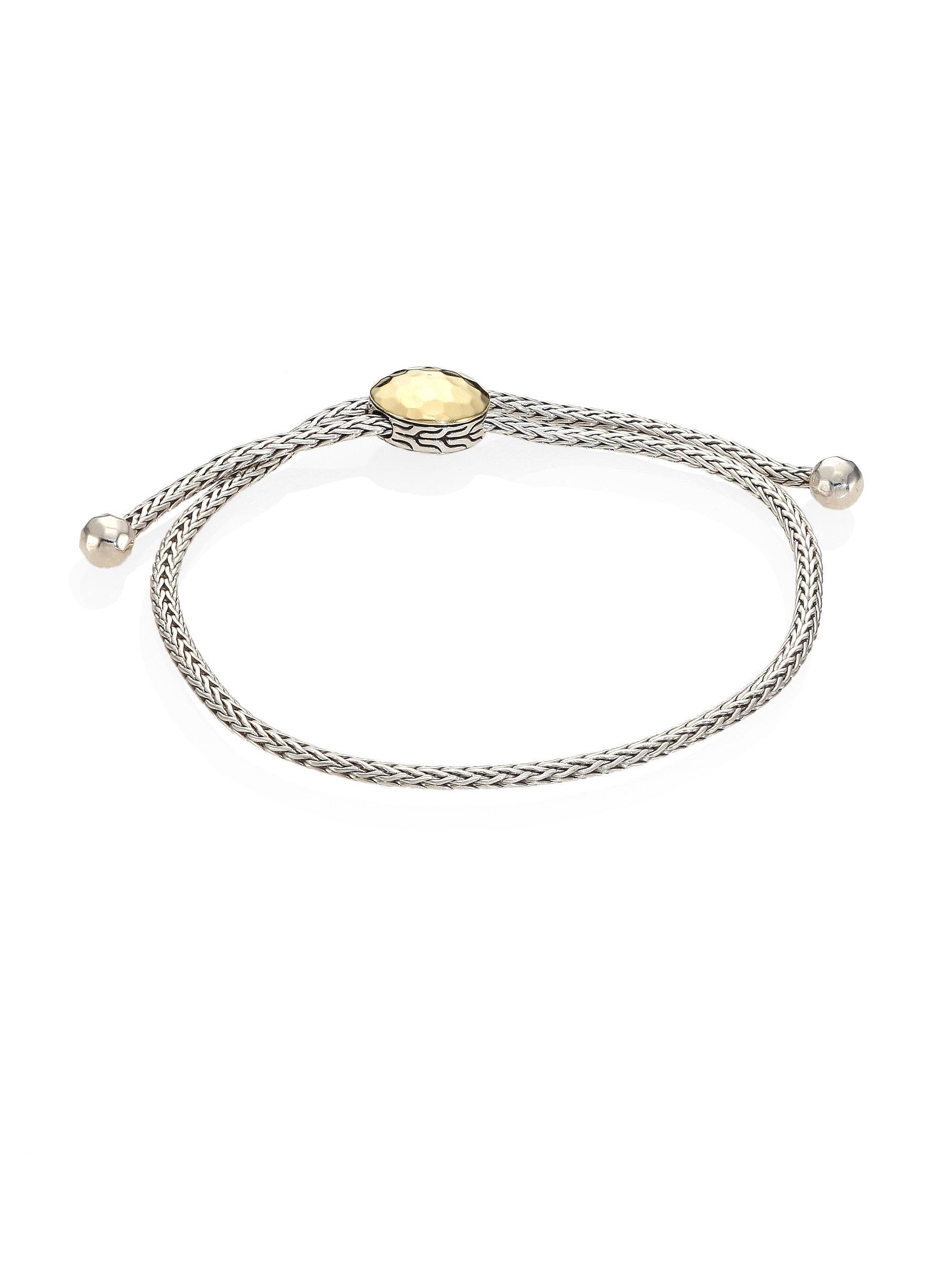 John Hardy Classic Chain Pull Through Bracelet With Diamonds dgy19jjdNK