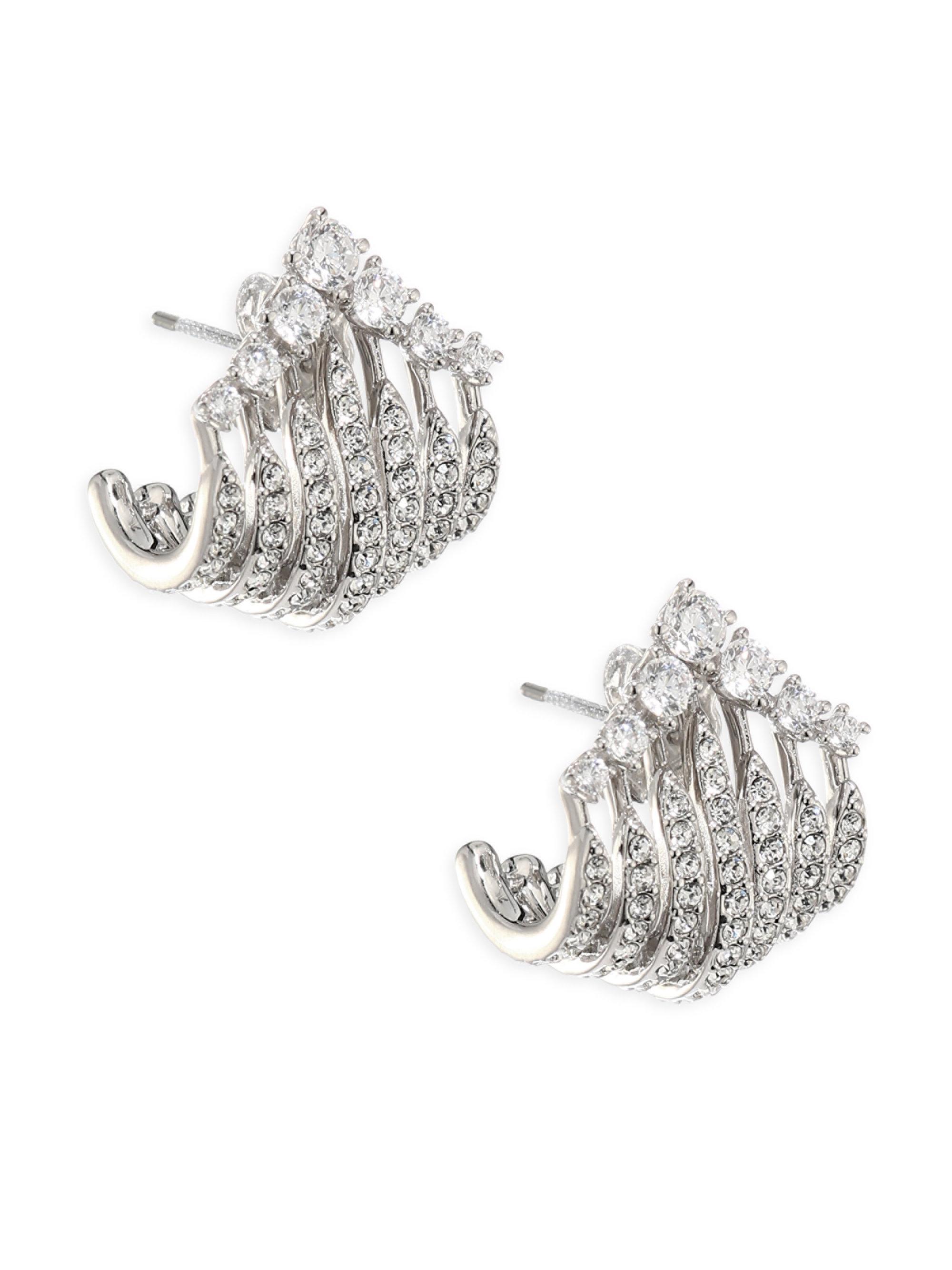 Image result for Adriana Orsini Greta Wrap Crystal Earrings