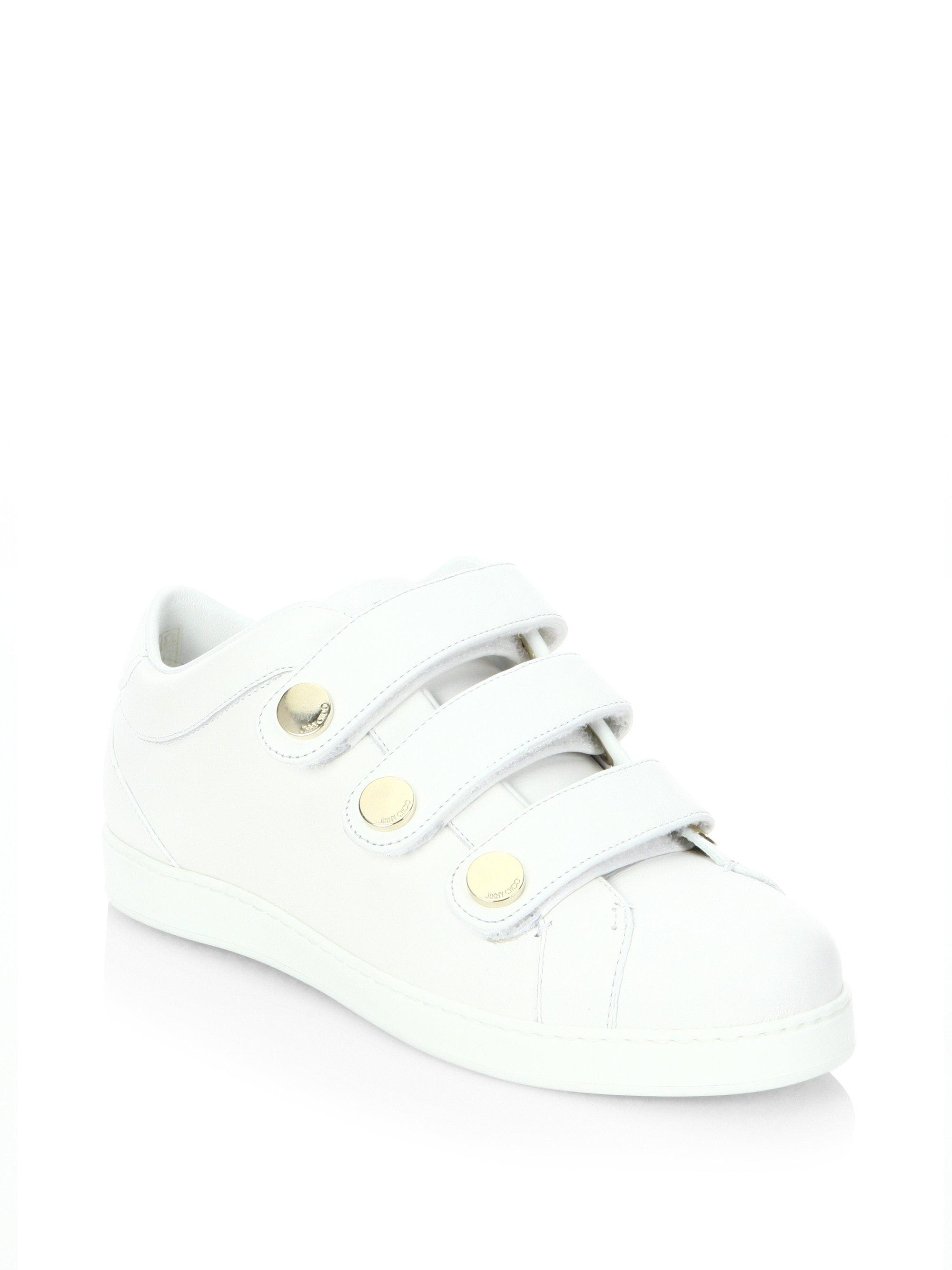 Jimmy Choo NY embellished leather sneakers sale marketable AXzZpWMdE