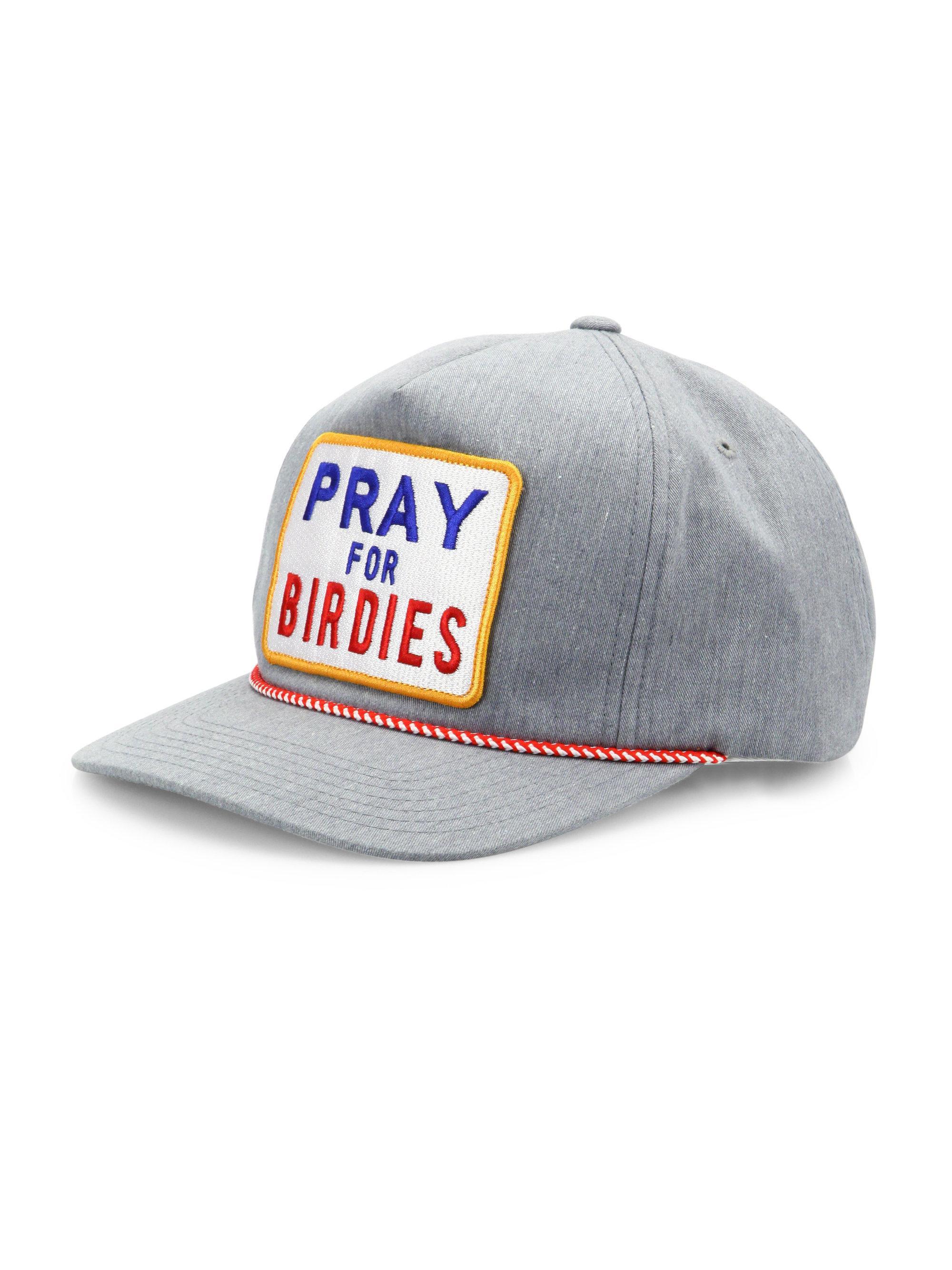 26b5845b305 Lyst - G FORE Pray For Birdies Cap in Gray for Men