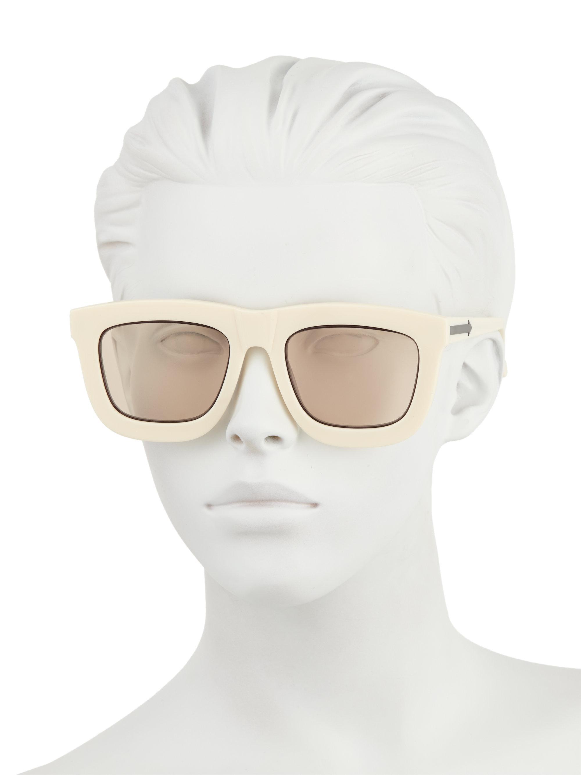 732d32ab20 Karen Walker - Multicolor Deep Worship 55mm Square Sunglasses - Lyst. View  fullscreen
