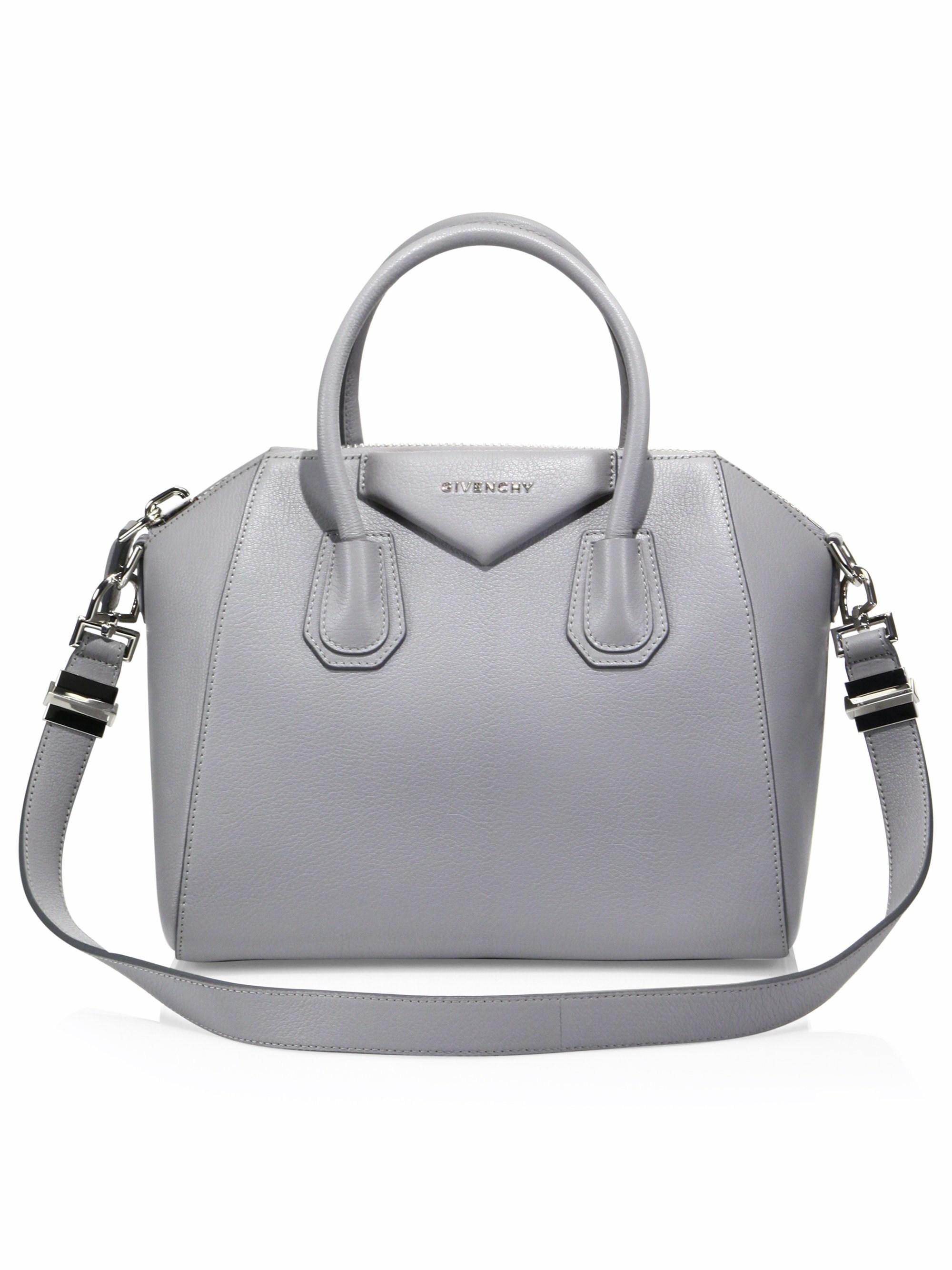 4184d277c1 Givenchy - Gray Women s Antigona Small Leather Satchel - Bright Red - Lyst.  View fullscreen