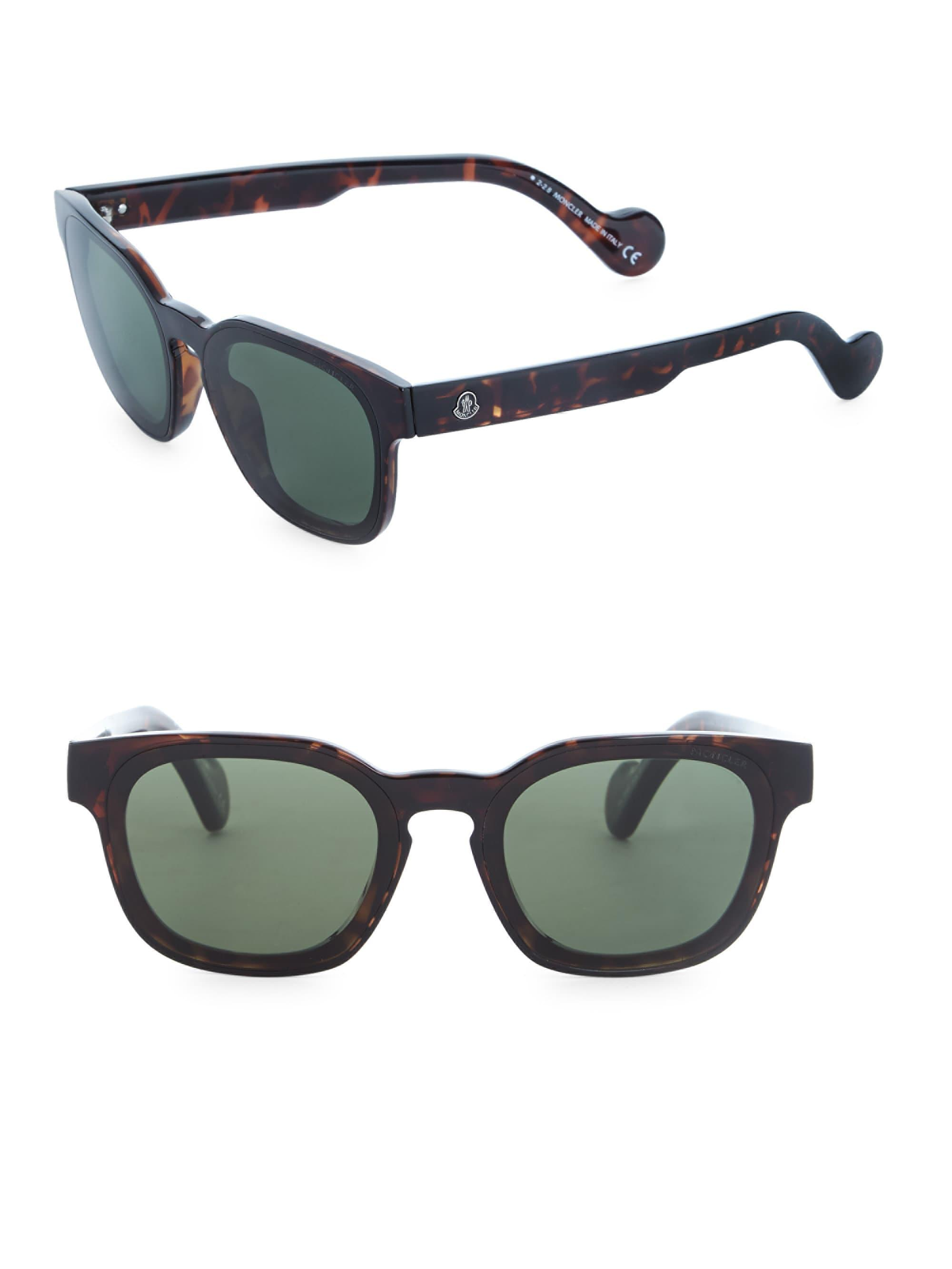 c3b47dc822b Moncler Injected Sunglasses in Green for Men - Lyst