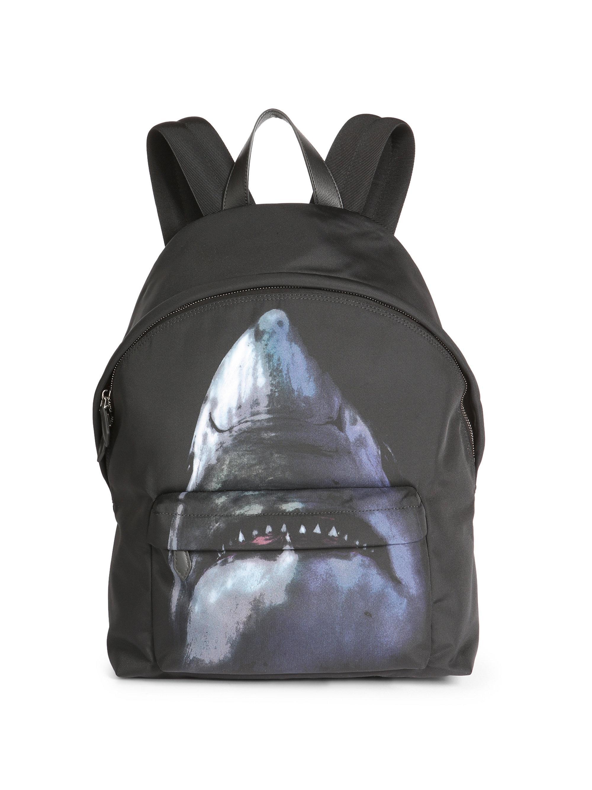 d807a19aa3 Lyst - Givenchy Shark Print Backpack for Men