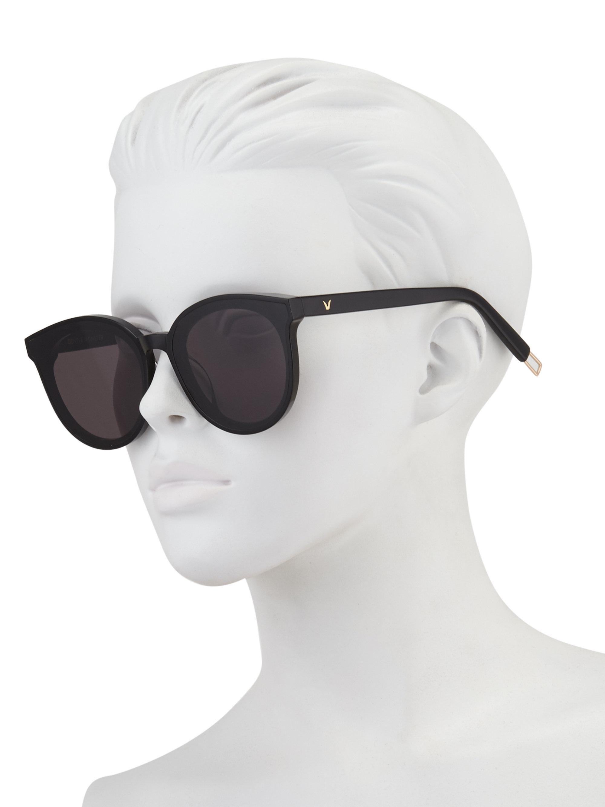ae76de77b3f57 Gentle Monster Black Peter 64mm Round Sunglasses in Black for Men - Lyst