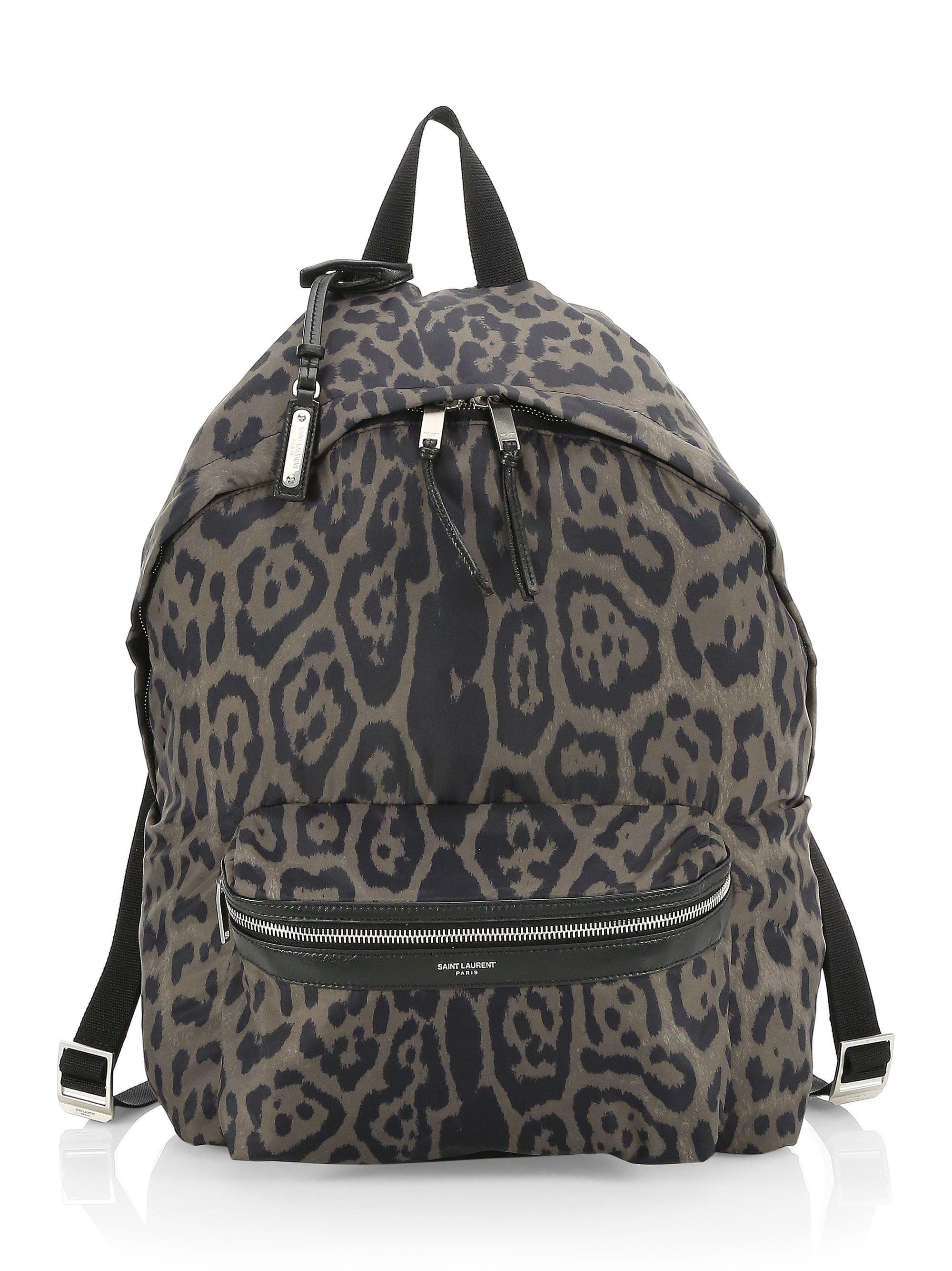 6e5c1b25885a Lyst - Saint Laurent Foldable City Printed Backpack for Men