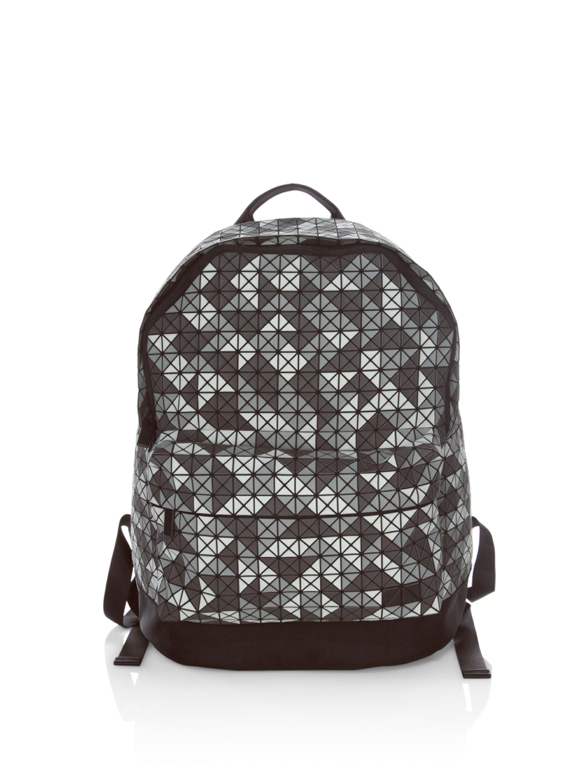 6f5c644b63 Lyst - Bao Bao Issey Miyake Symmetrical Daypack Backpack in Gray for Men