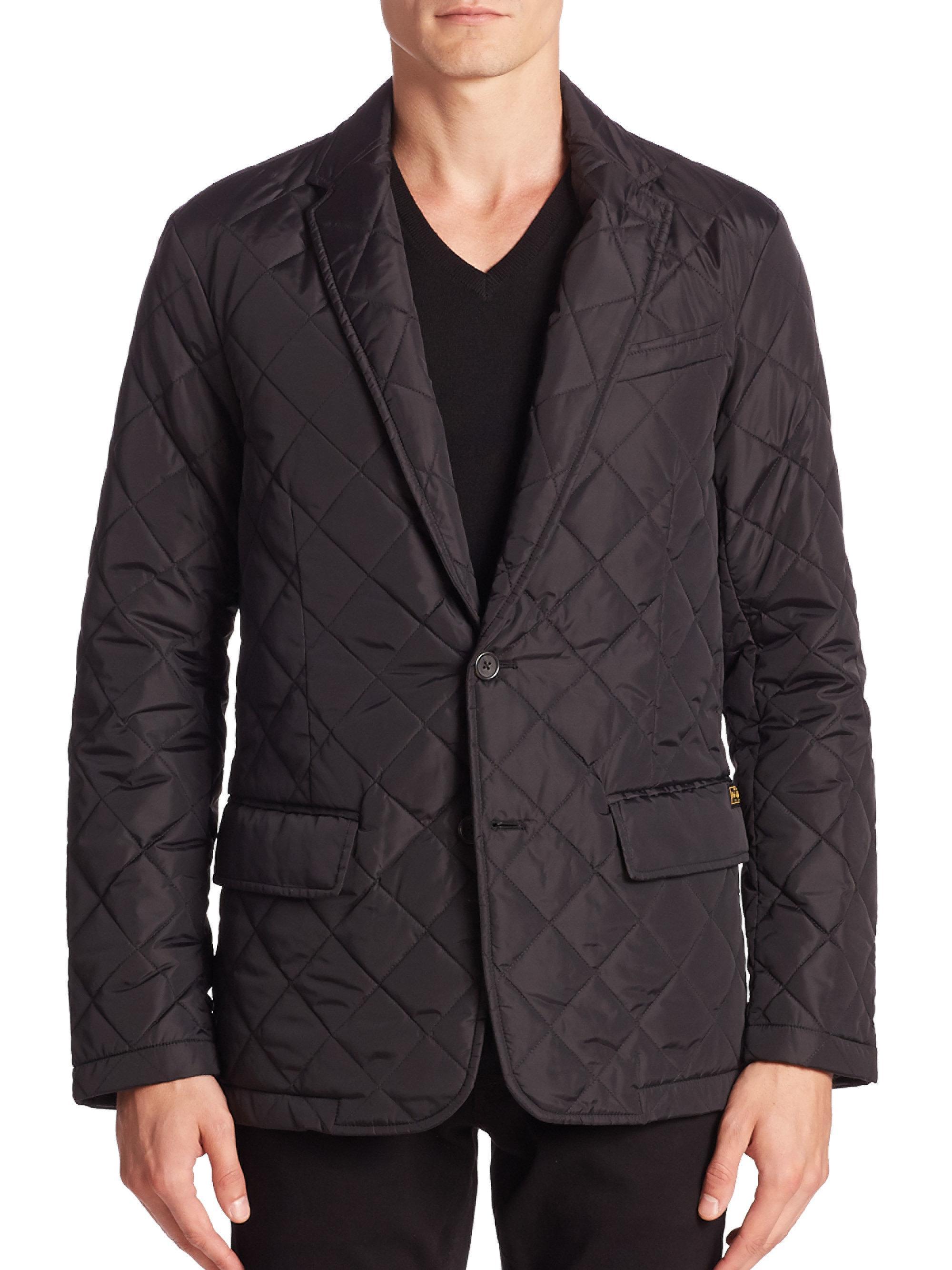 Lyst - Polo ralph lauren Hillsdale Quilted Sportcoat in Blue for Men : mens quilted sport coat - Adamdwight.com