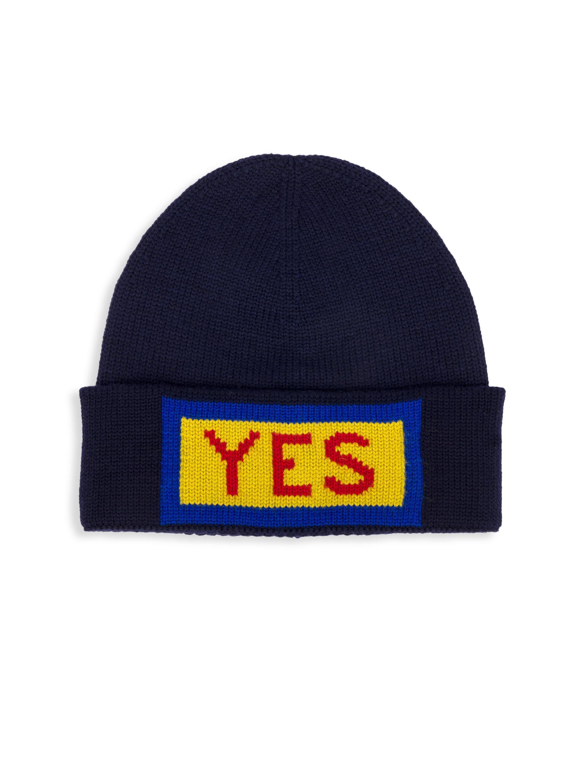 f68d4bdda3ce4 Lyst - Fendi Wool Hat in Blue for Men