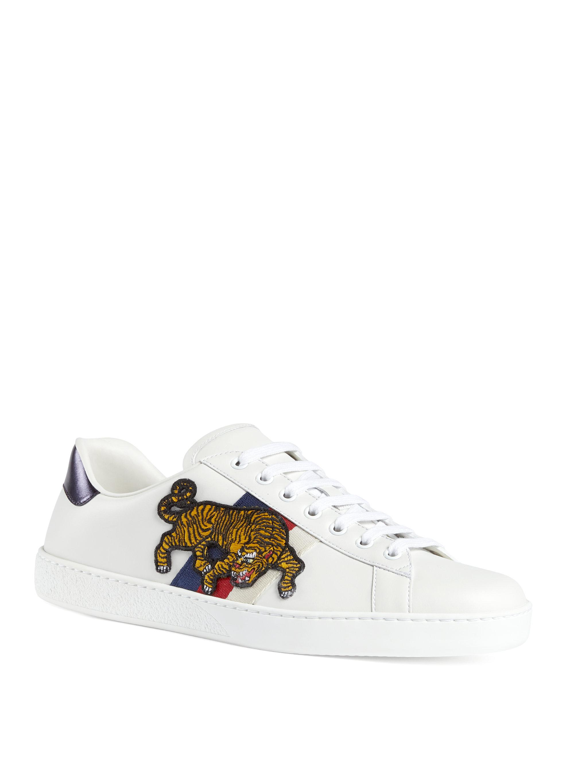 tER6fIKCMa Exclusive Tiger Leather Sneakers YoTia