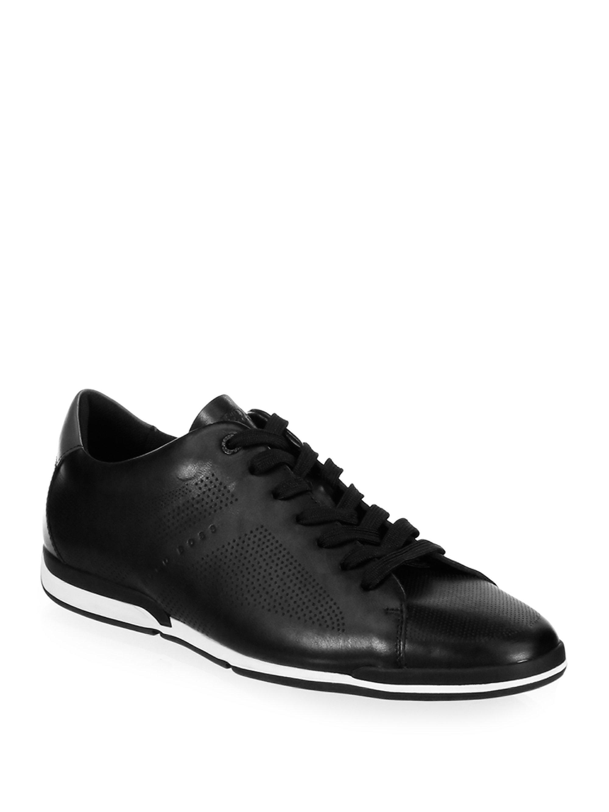 Mens Saturn_Lowp_Act Low-Top Sneakers HUGO BOSS wvf1bw92V