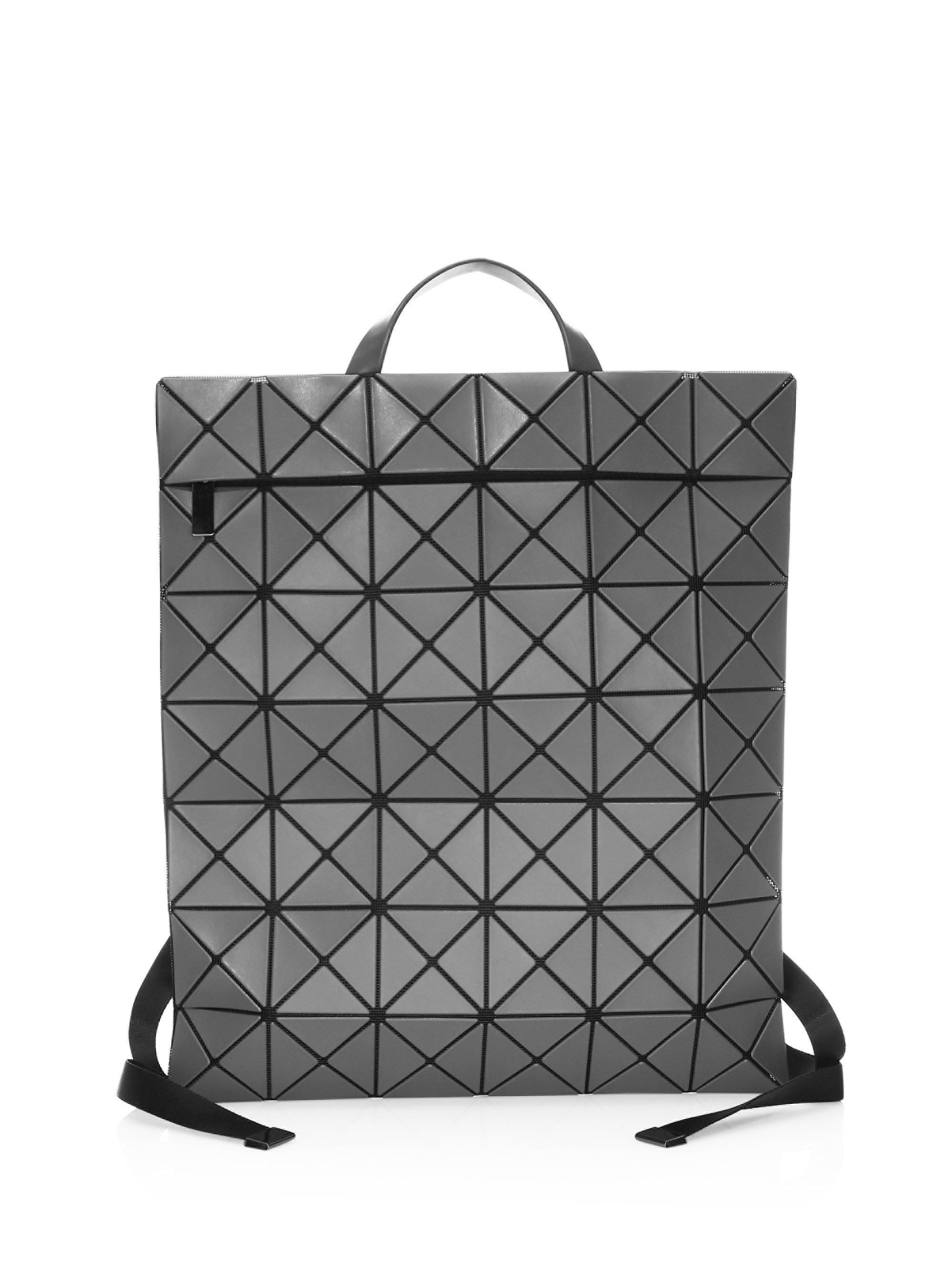 4246abdced00 Bao Bao Issey Miyake Large Flat Backpack in Gray for Men - Lyst