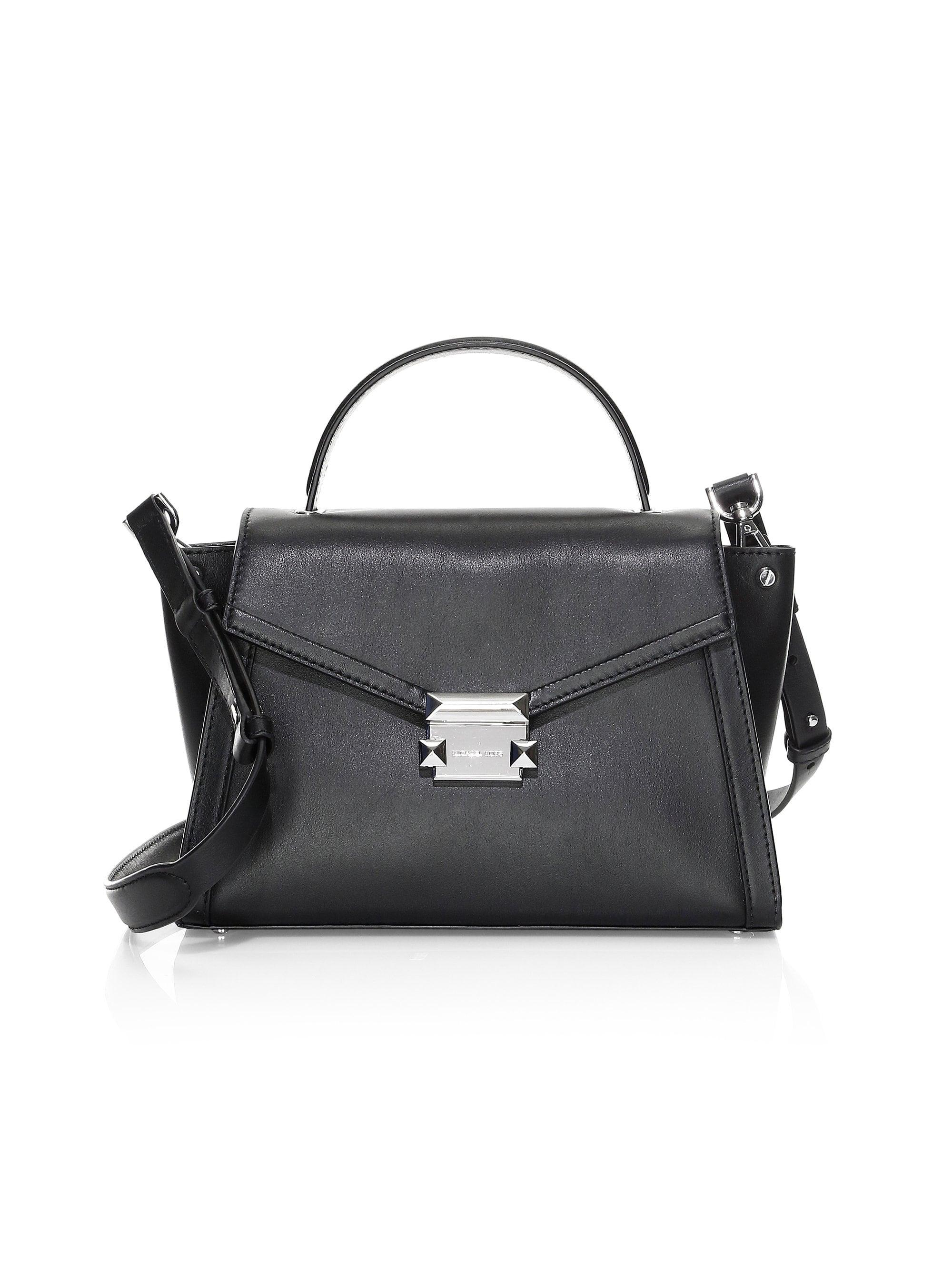 f8e54e0a13bb Lyst - MICHAEL Michael Kors Women's Medium Whitney Leather Satchel ...