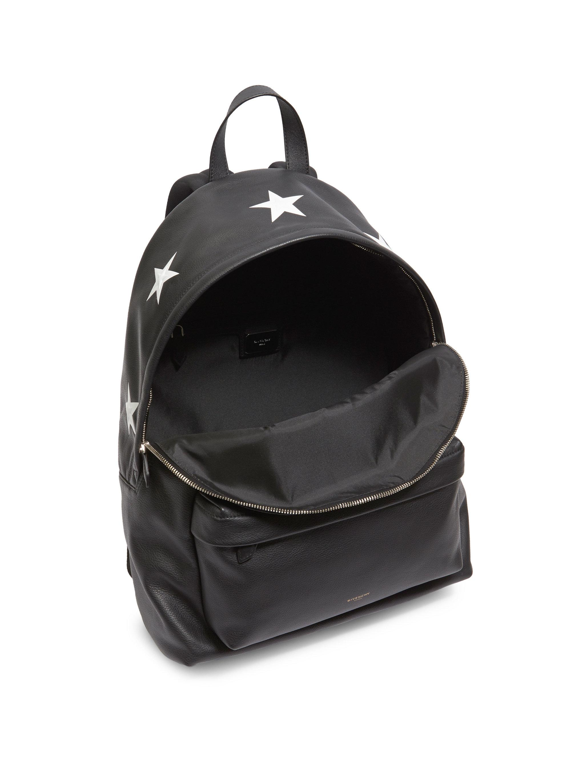 dad4d84e28 Lyst - Givenchy Large Star Leather Backpack in Black for Men