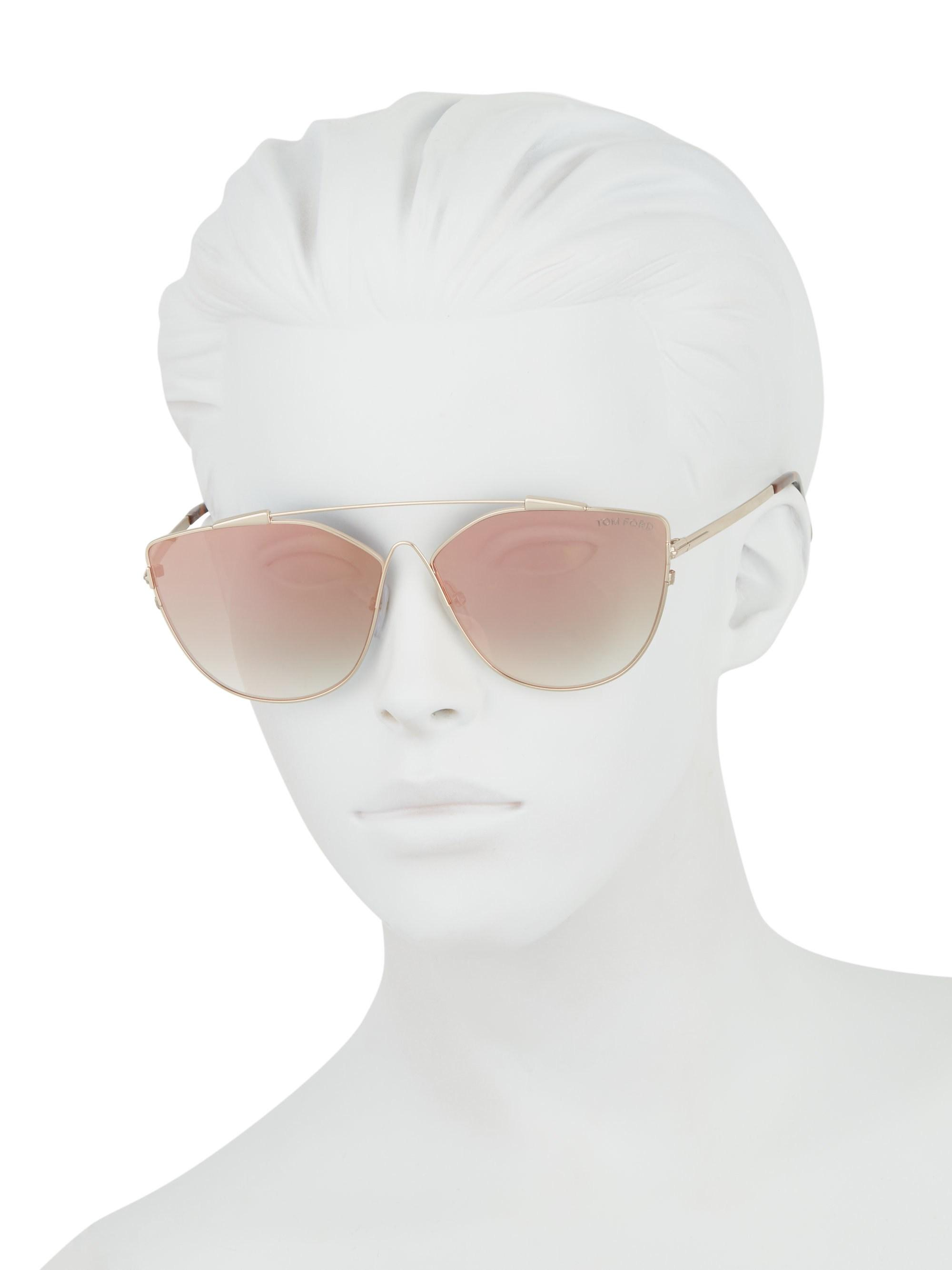 d0681ff3e98e Gallery. Previously sold at: Saks Fifth Avenue · Women's Cat Eye Sunglasses  Women's Tom Ford ...