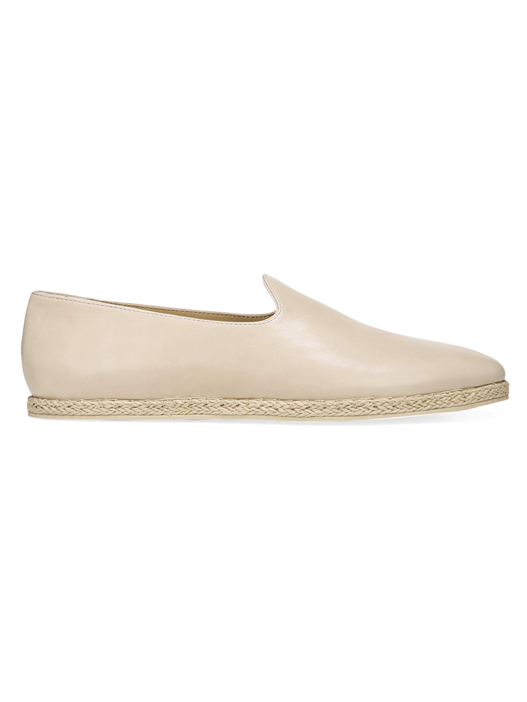 91698db014c5 Lyst - Vince Malia 2 Leather Espadrilles in Natural