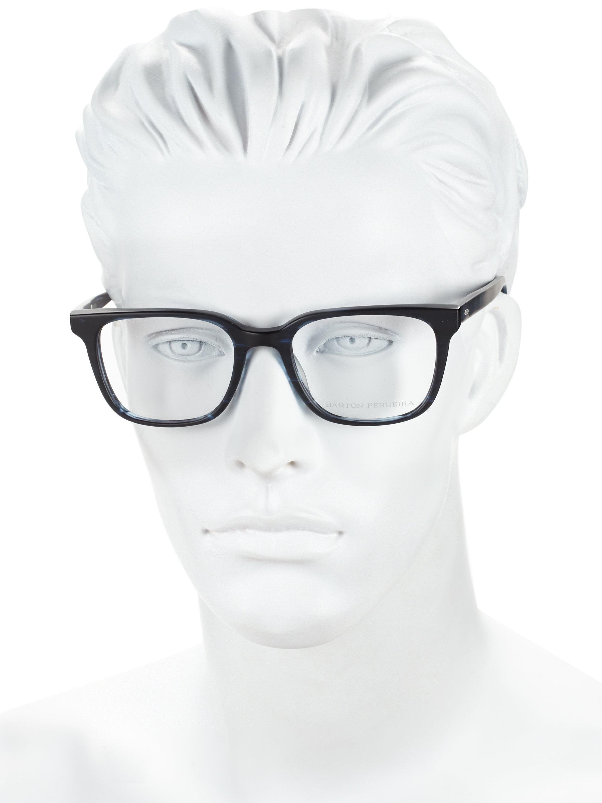 Barton Perreira Joe Matte Midnight 52mm Optical Glasses for Men - Lyst