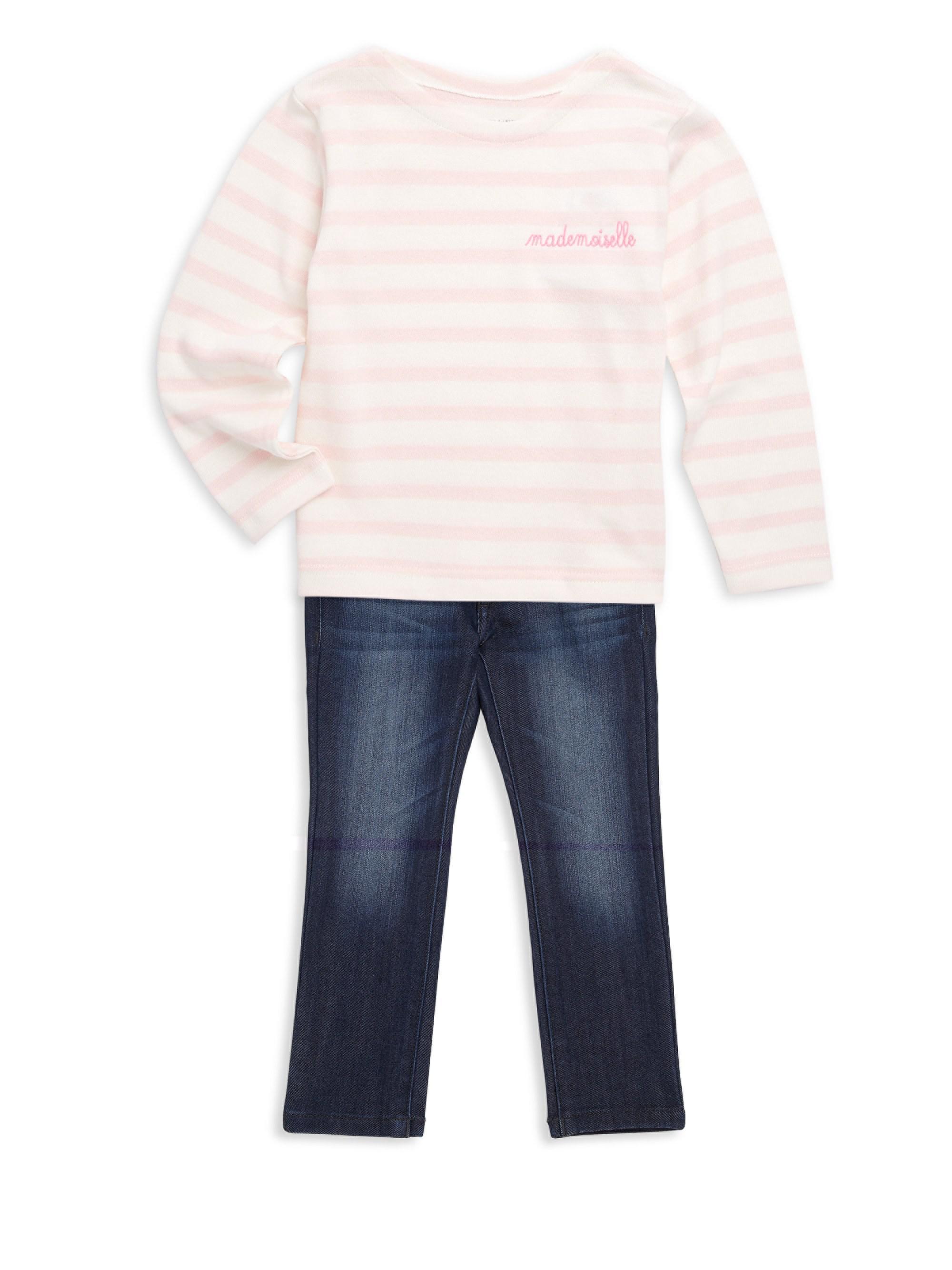 27a9504fe1b2 Maison Labiche Little Kid's & Kid's Sailor Tee in White for Men - Lyst