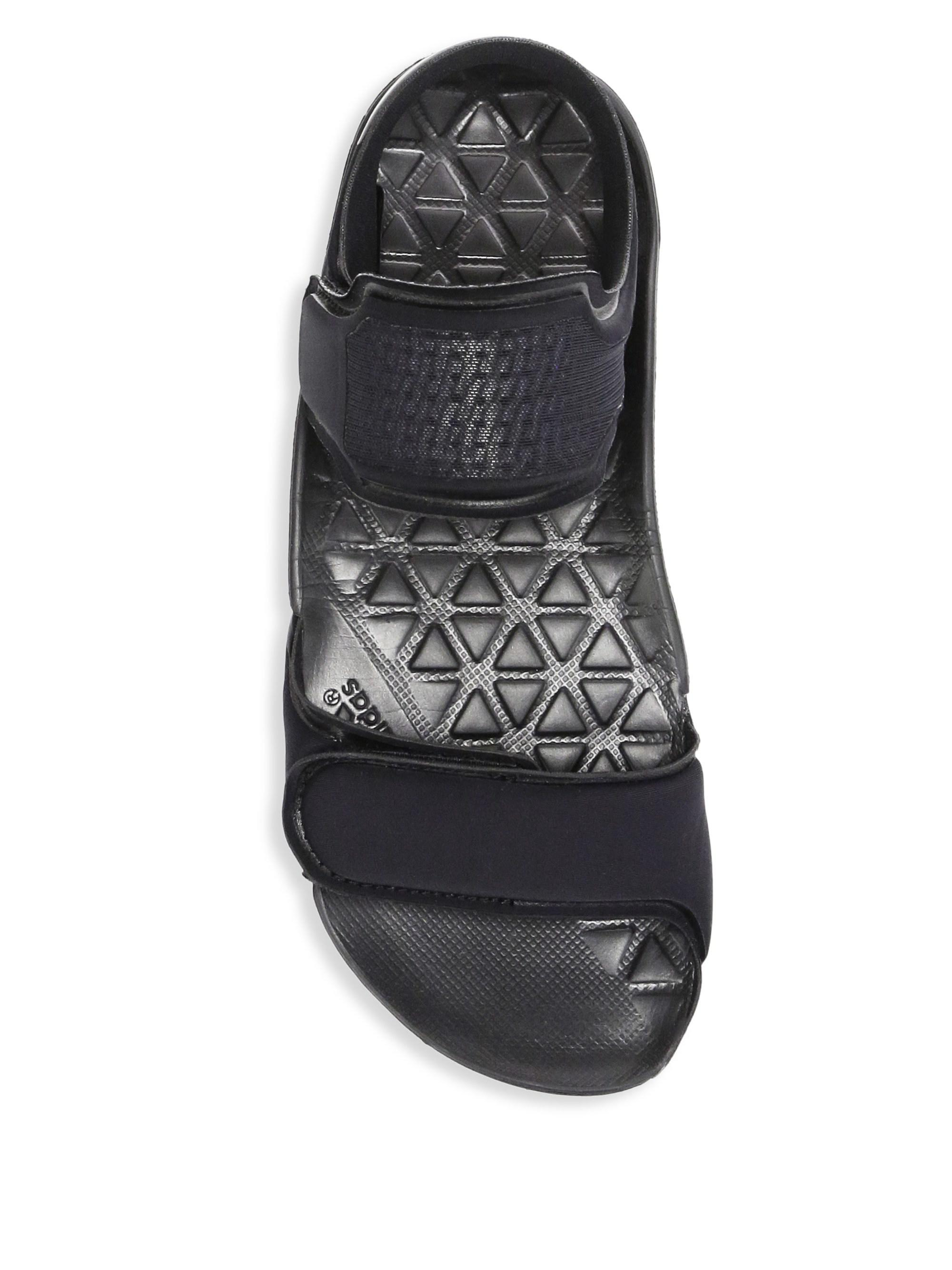 8276550863ca Lyst - adidas By Stella McCartney Hikira Nylon Grip-tape Sandals in ...