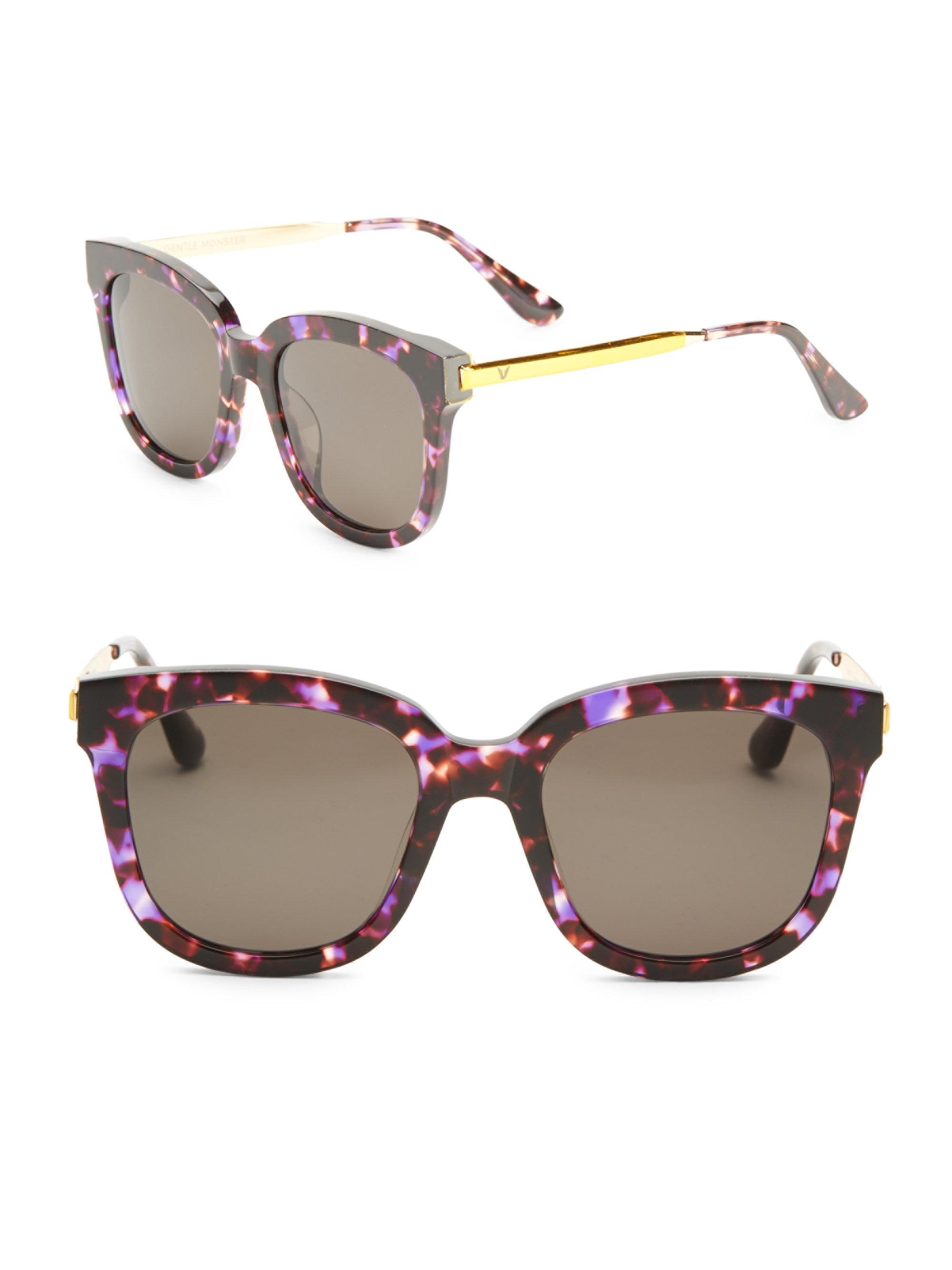 0a8004696c00 Lyst - Gentle Monster Absente 54mm Oversize Sunglasses
