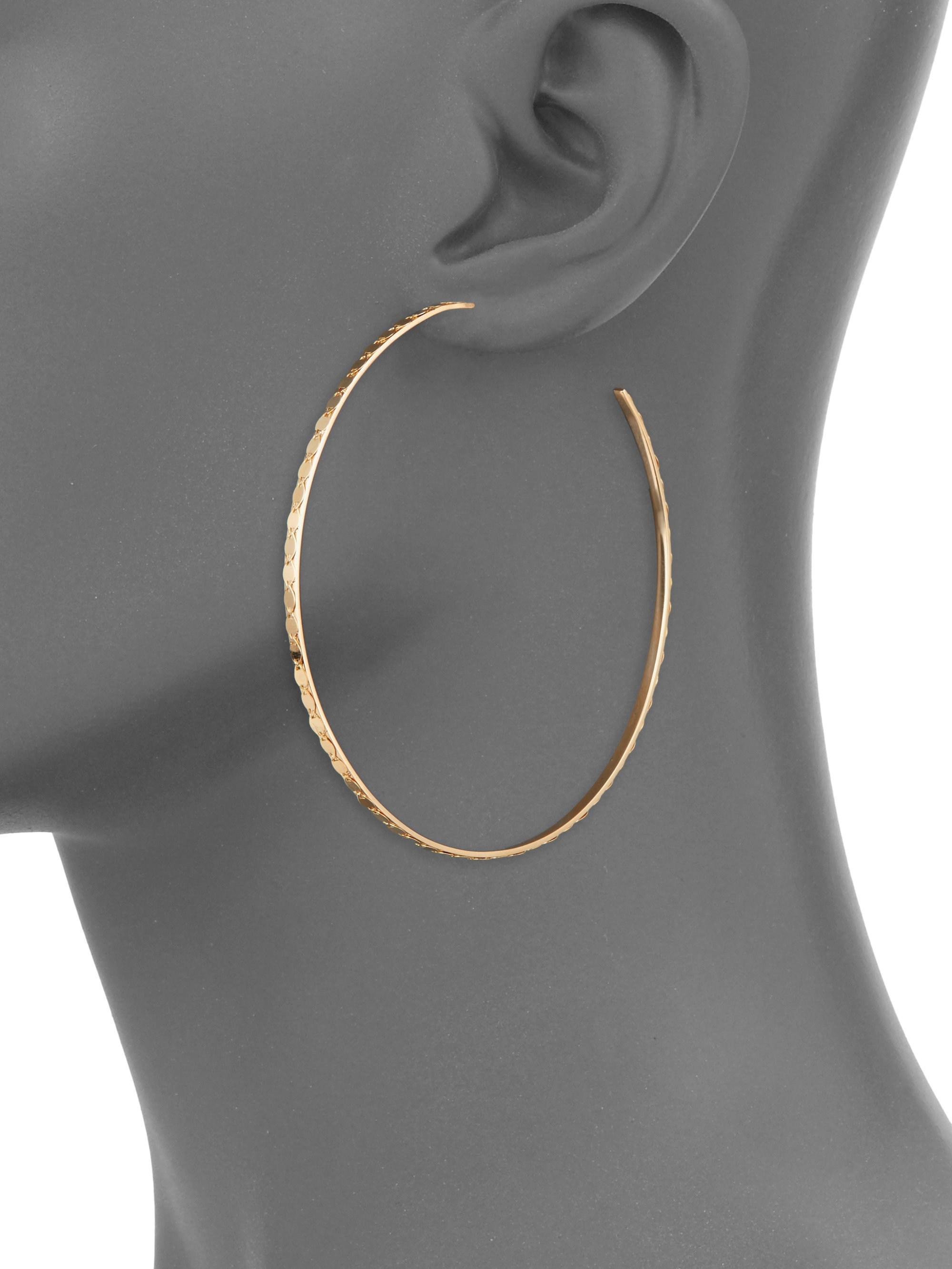 872bbbbe16093 Lyst Lana Jewelry 15 Year Anniversary Small Glam Magic Hoop