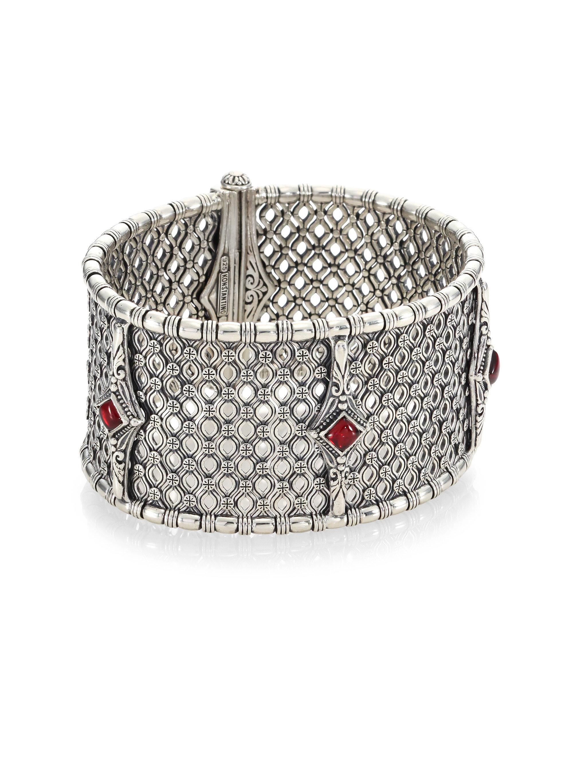 from slim sterling watches hinged find konstantino silver and brand men orpheus at bracelets jewelry bracelet online s products