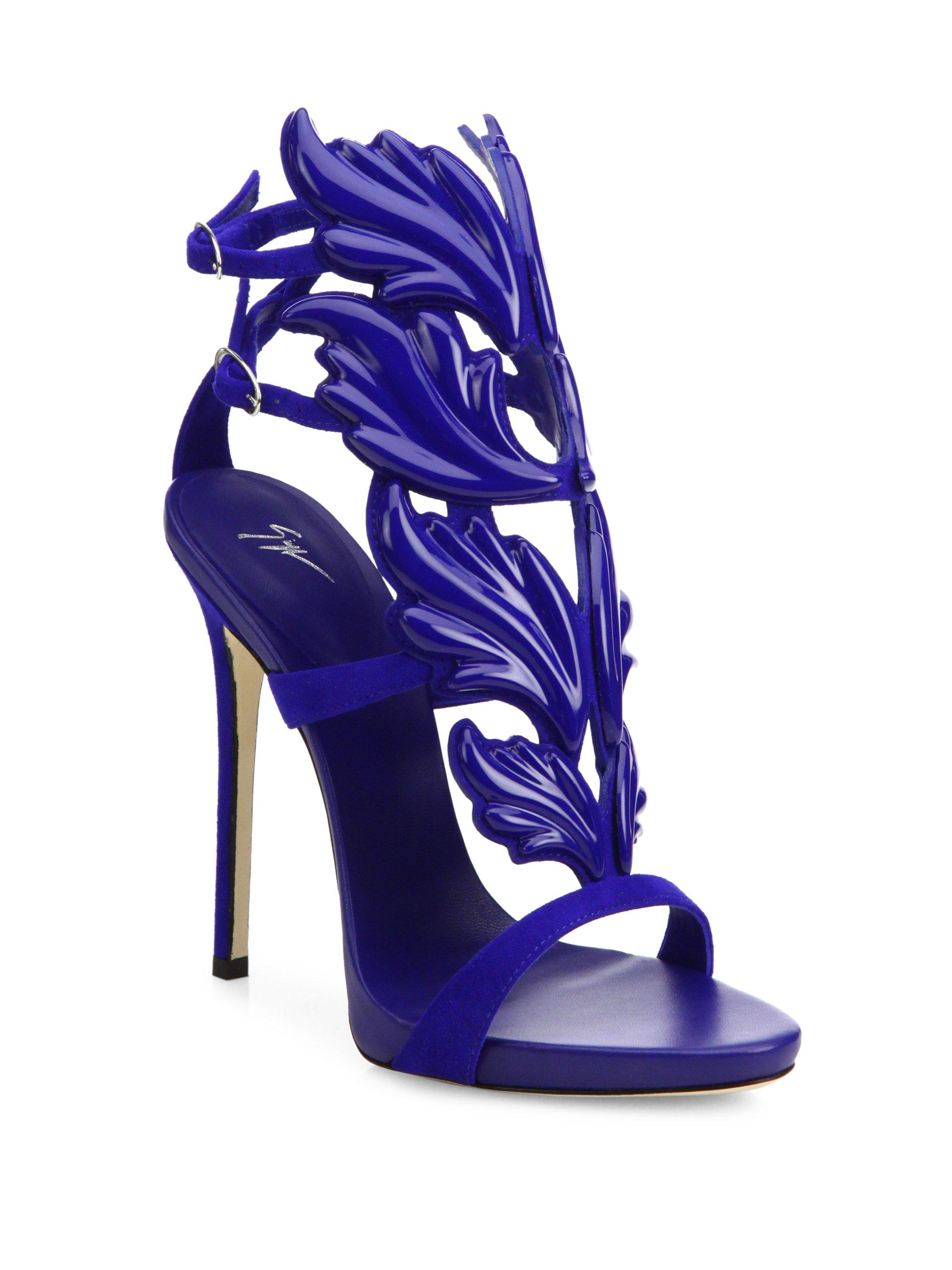 Giuseppe ZanottiSuede Wing Sandals