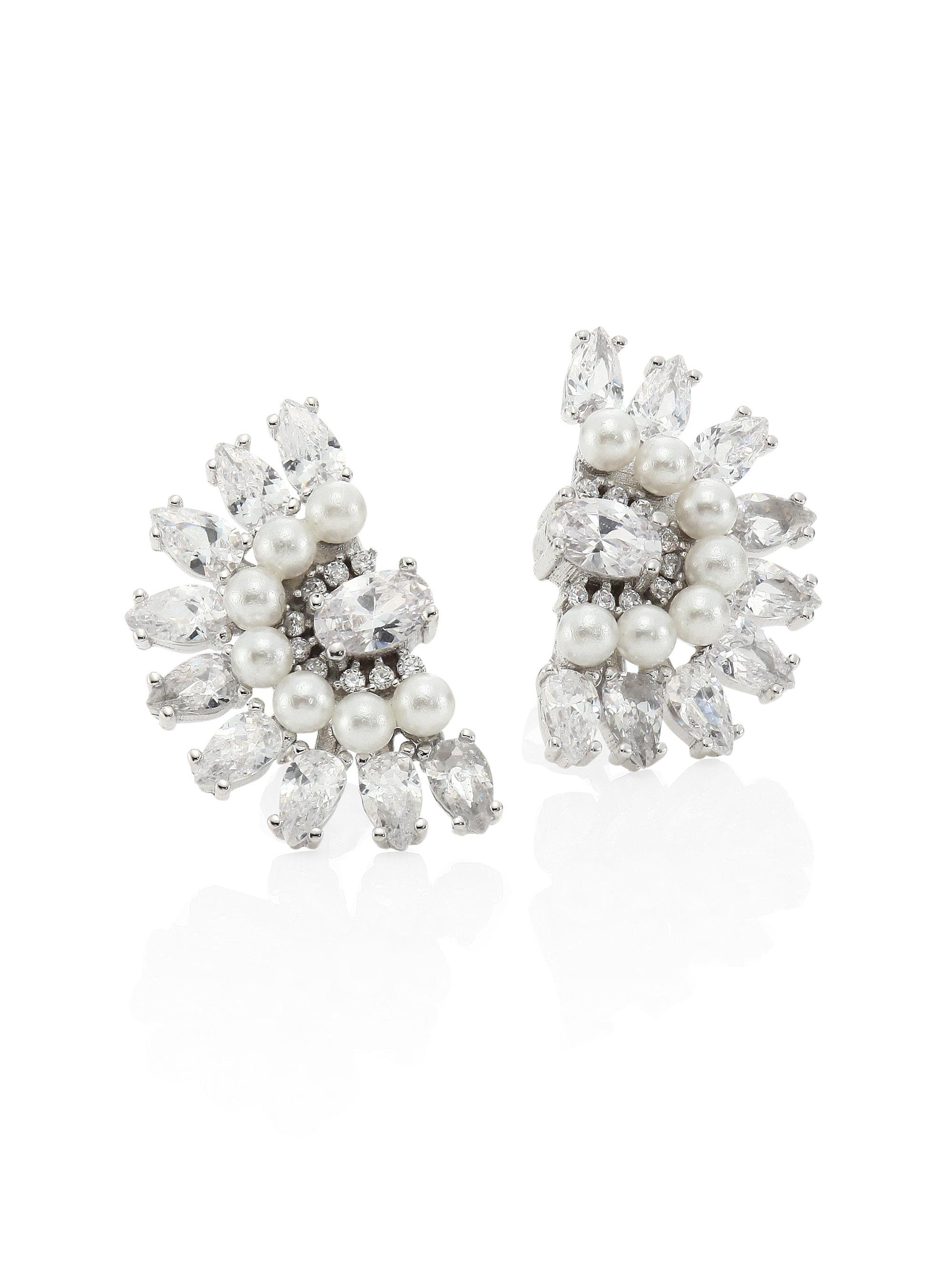 Fallon Monarch Micro Baguette Stud Earrings bQFO4svU