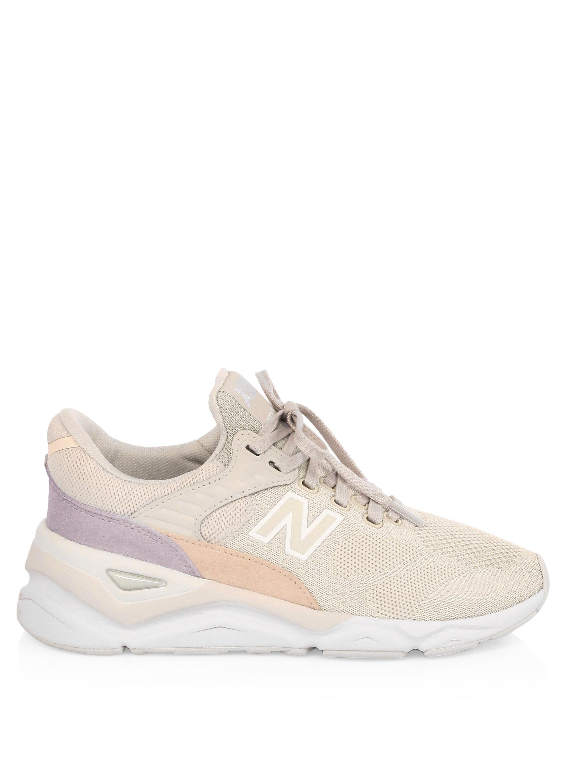 New Balance Moonbeam X90 Suede Mesh Sneakers Lyst
