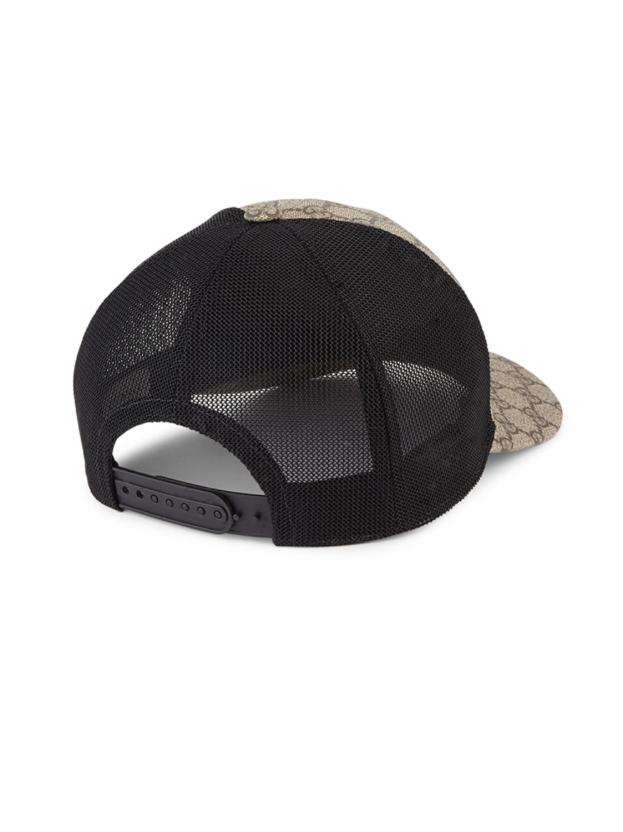 97f9e278cde Lyst - Gucci Gg Supreme Canvas Baseball Cap for Men
