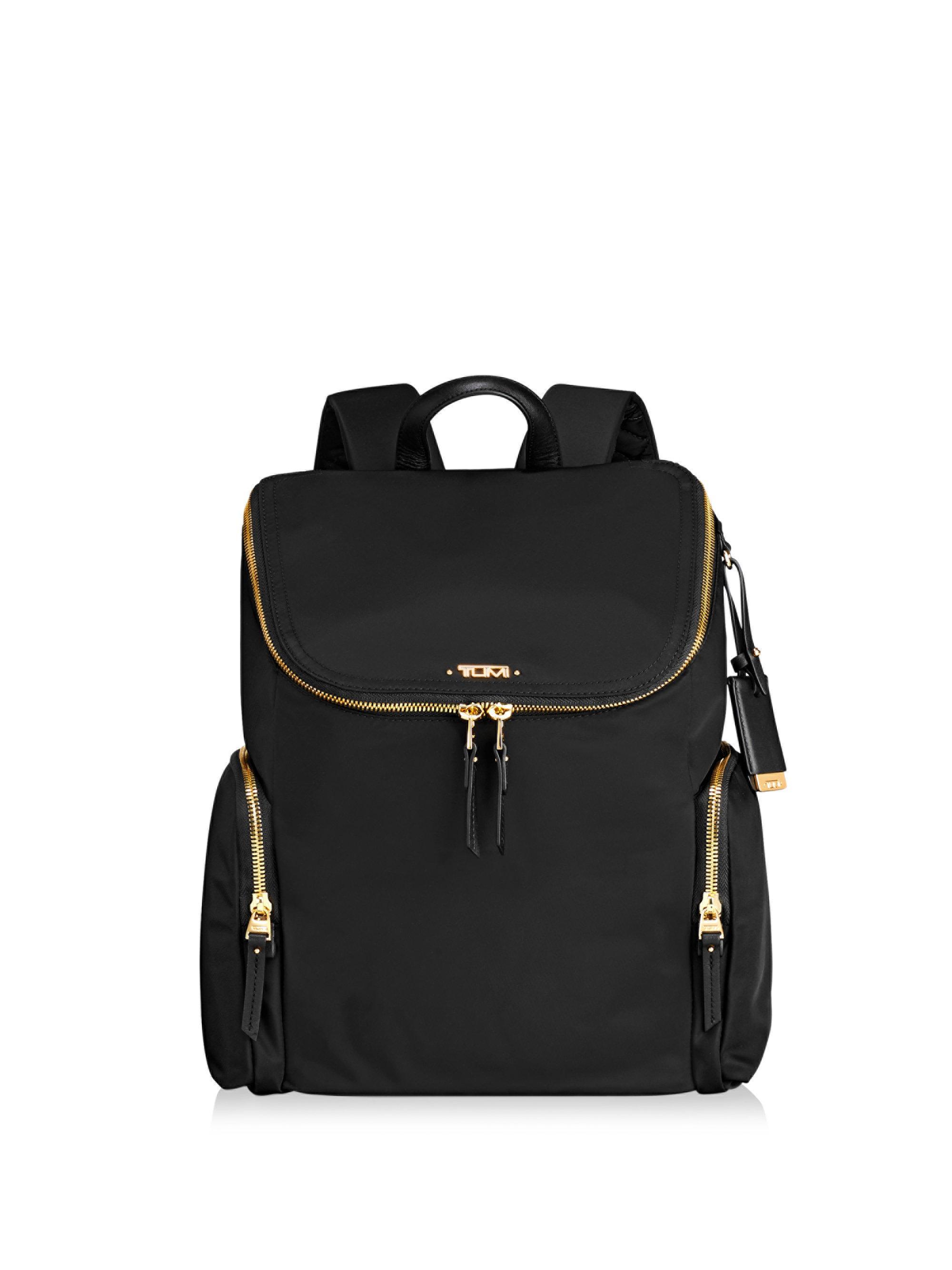 ... Tumi Black Zip Flap Back Pack for Men Lyst. View Fullscreen san  francisco e6bfc 48e27  Adidas ... 497adb2693