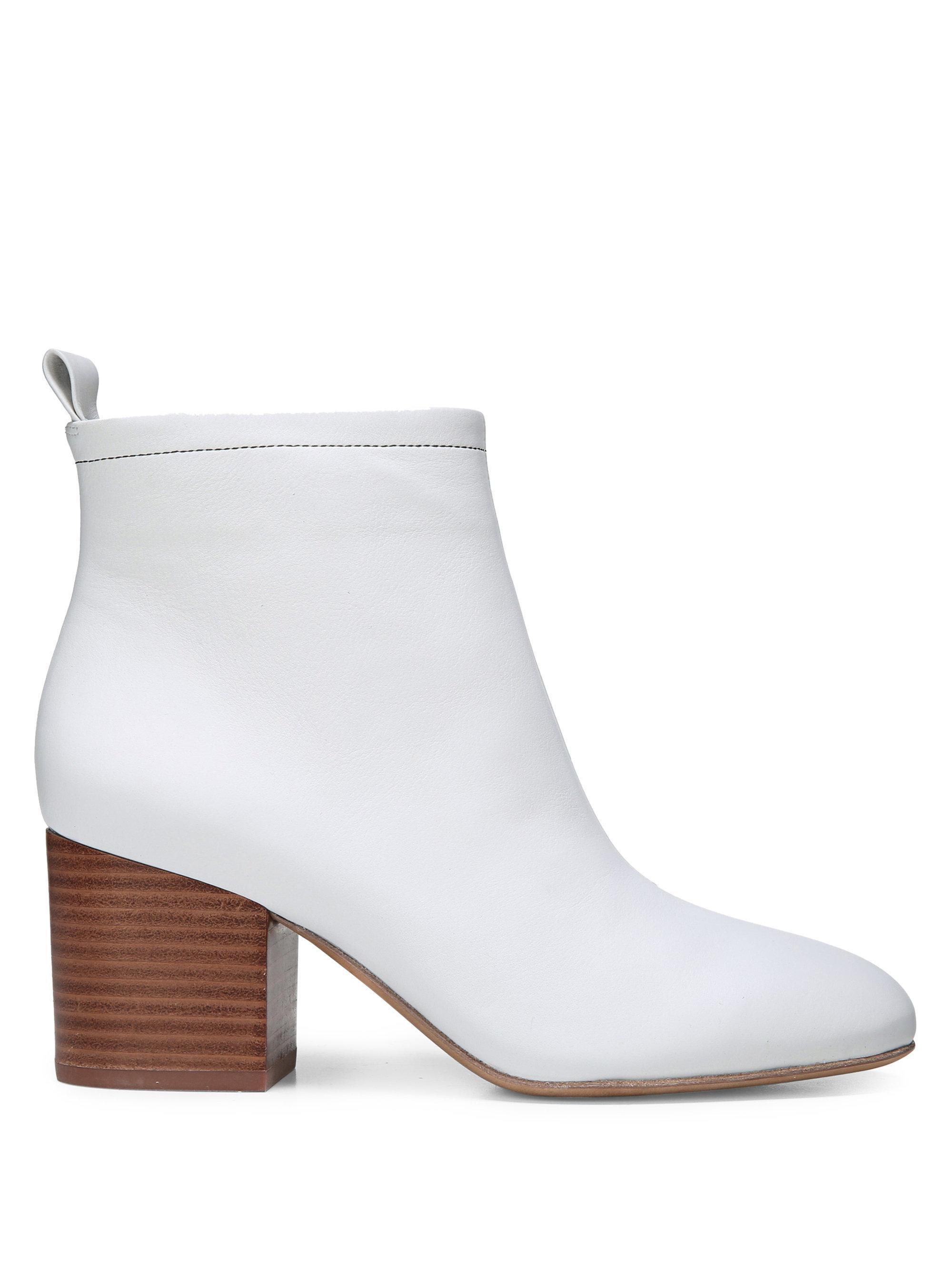 Diane von Furstenberg Matte Leather Booties IBiubA