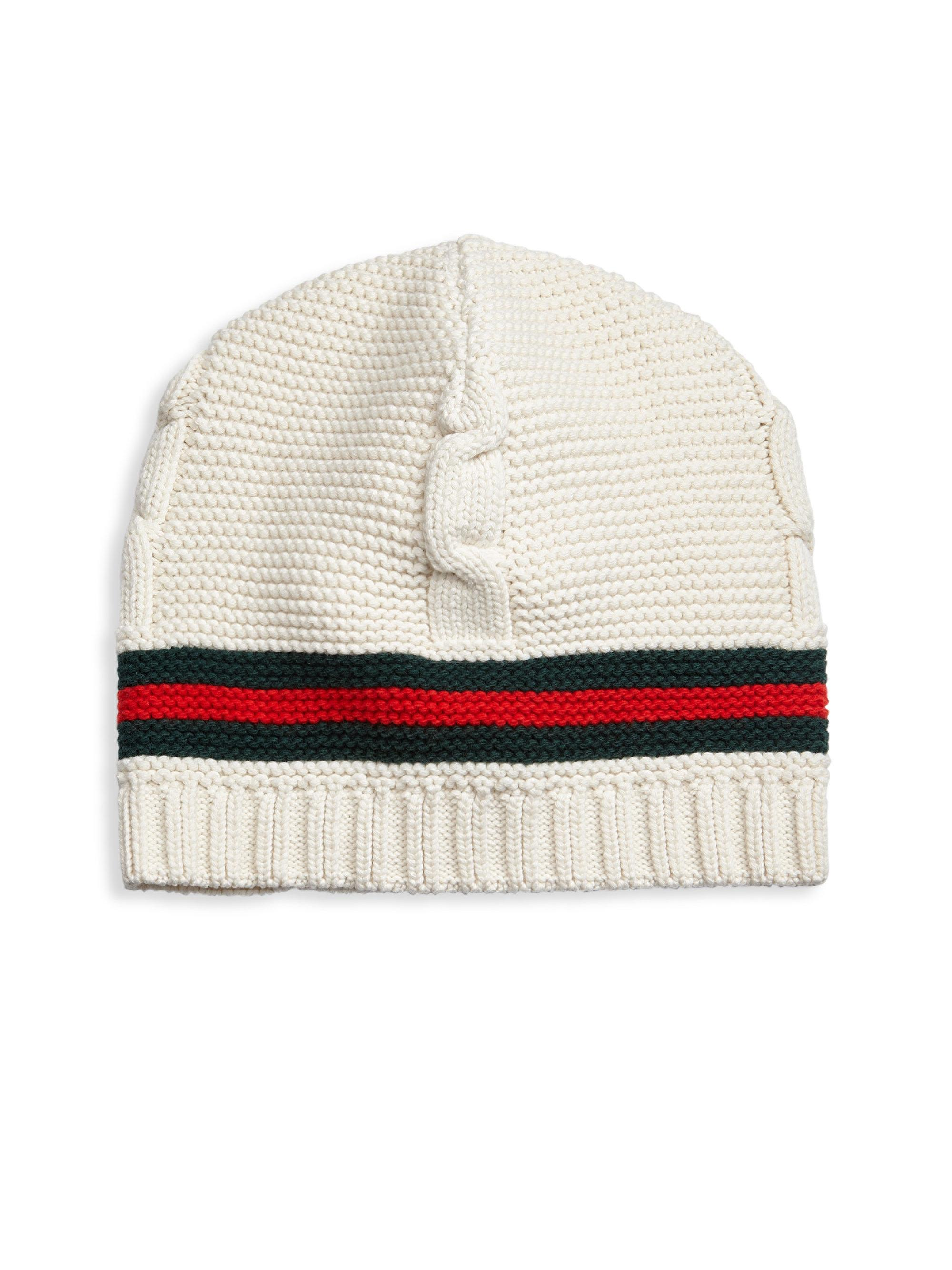 Mens Logo Wool Beanie Gucci EVVza