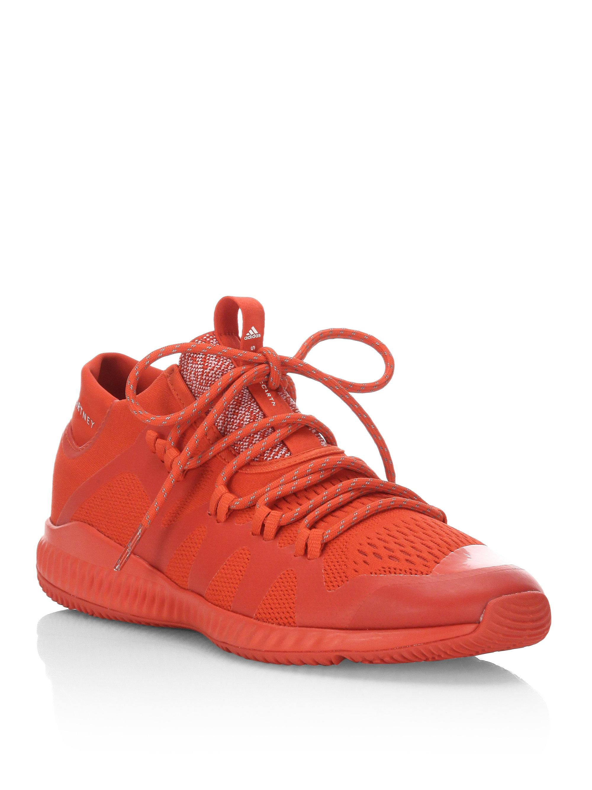 adidas By Stella McCartney. Women's Red Crazy Train Bounce Sneakers