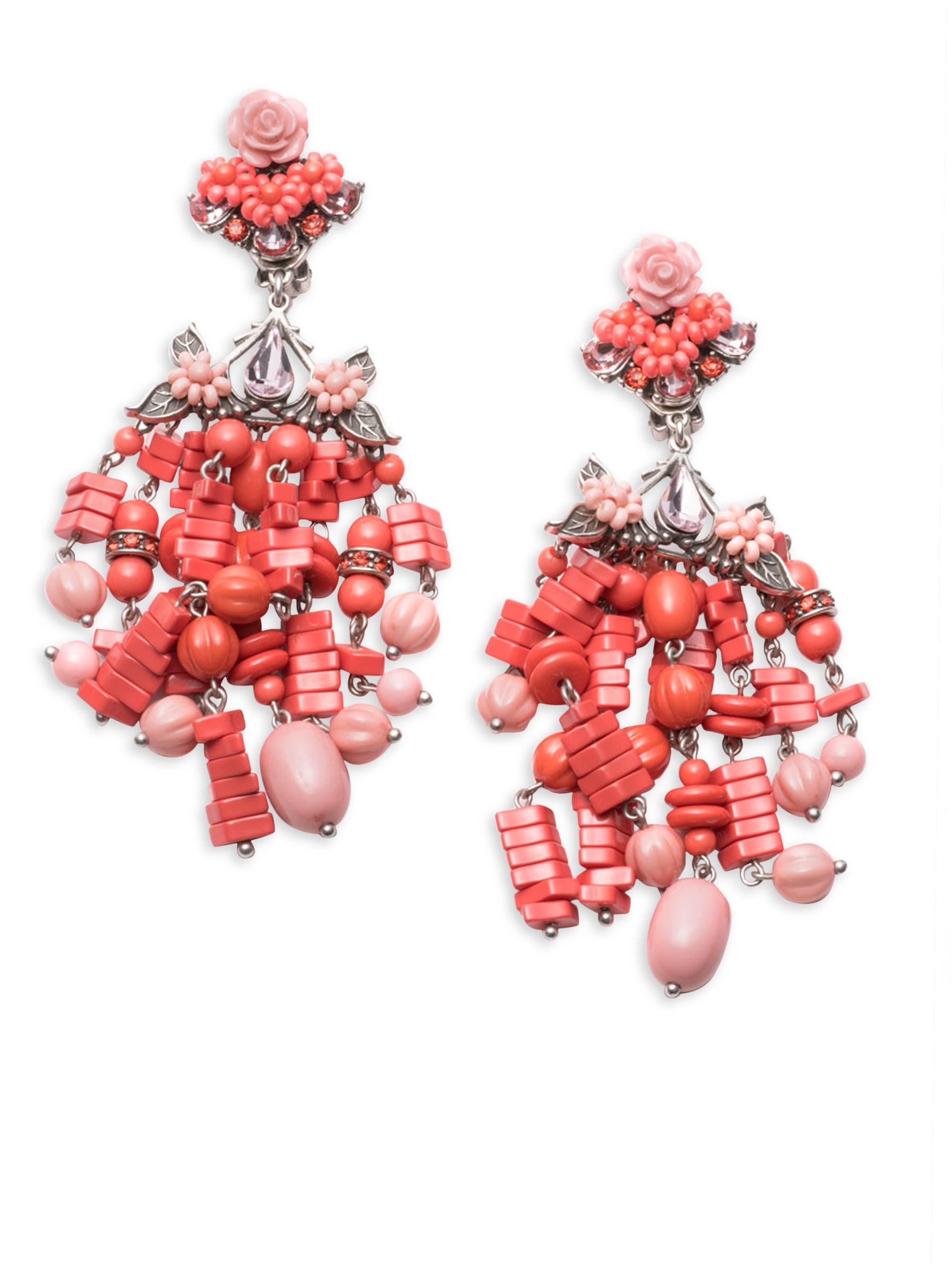 Dannijo Lionel Firework Drop Earrings RRvNJ