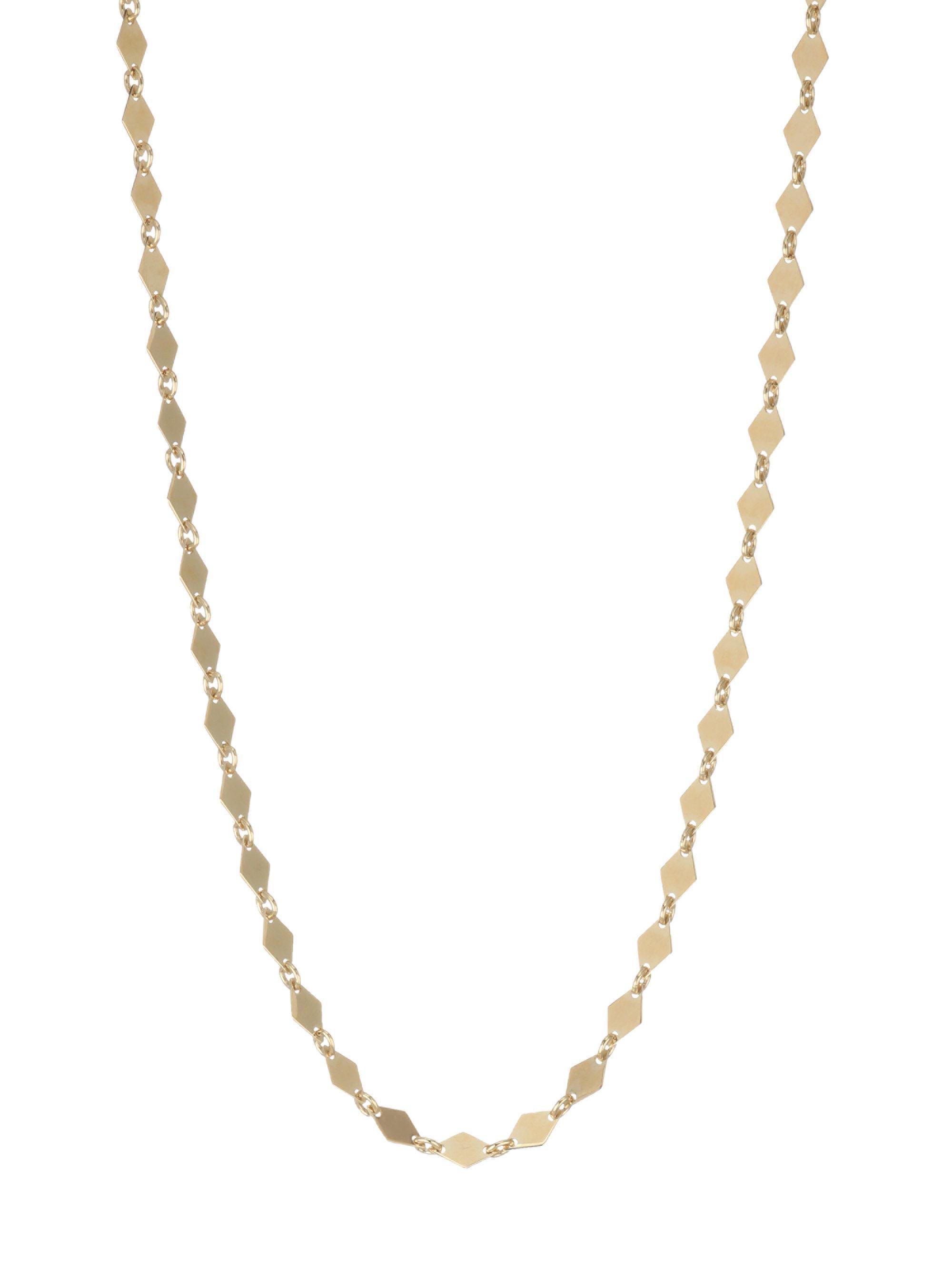 Lana Jewelry 14k Tricolor Gold Triple-Strand Necklace klF9yyg2