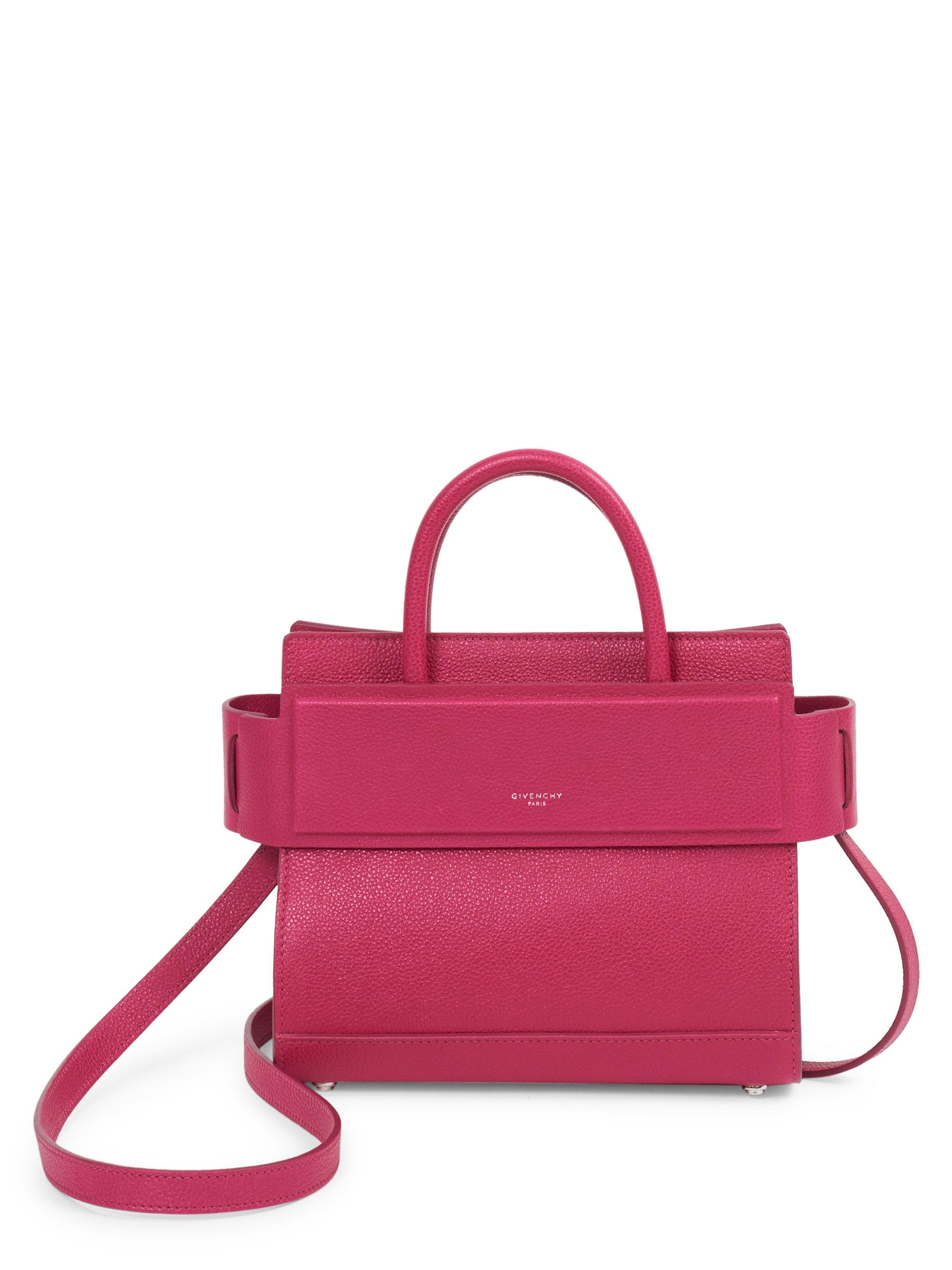 Horizon Color-Block Leather Mini Bag Givenchy O6qcwFb
