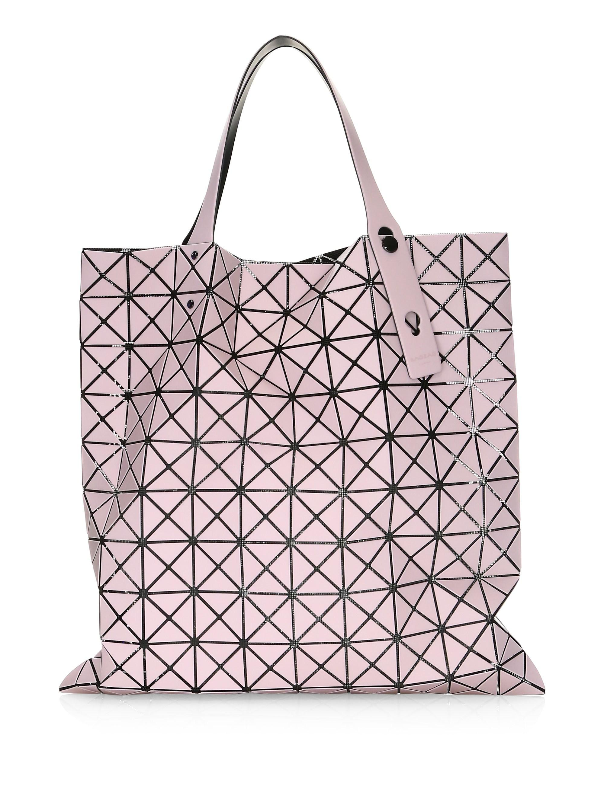 Bao Bao Issey Miyake Light Pink Prism Frost Tote in Pink - Lyst a863bba81f7cb
