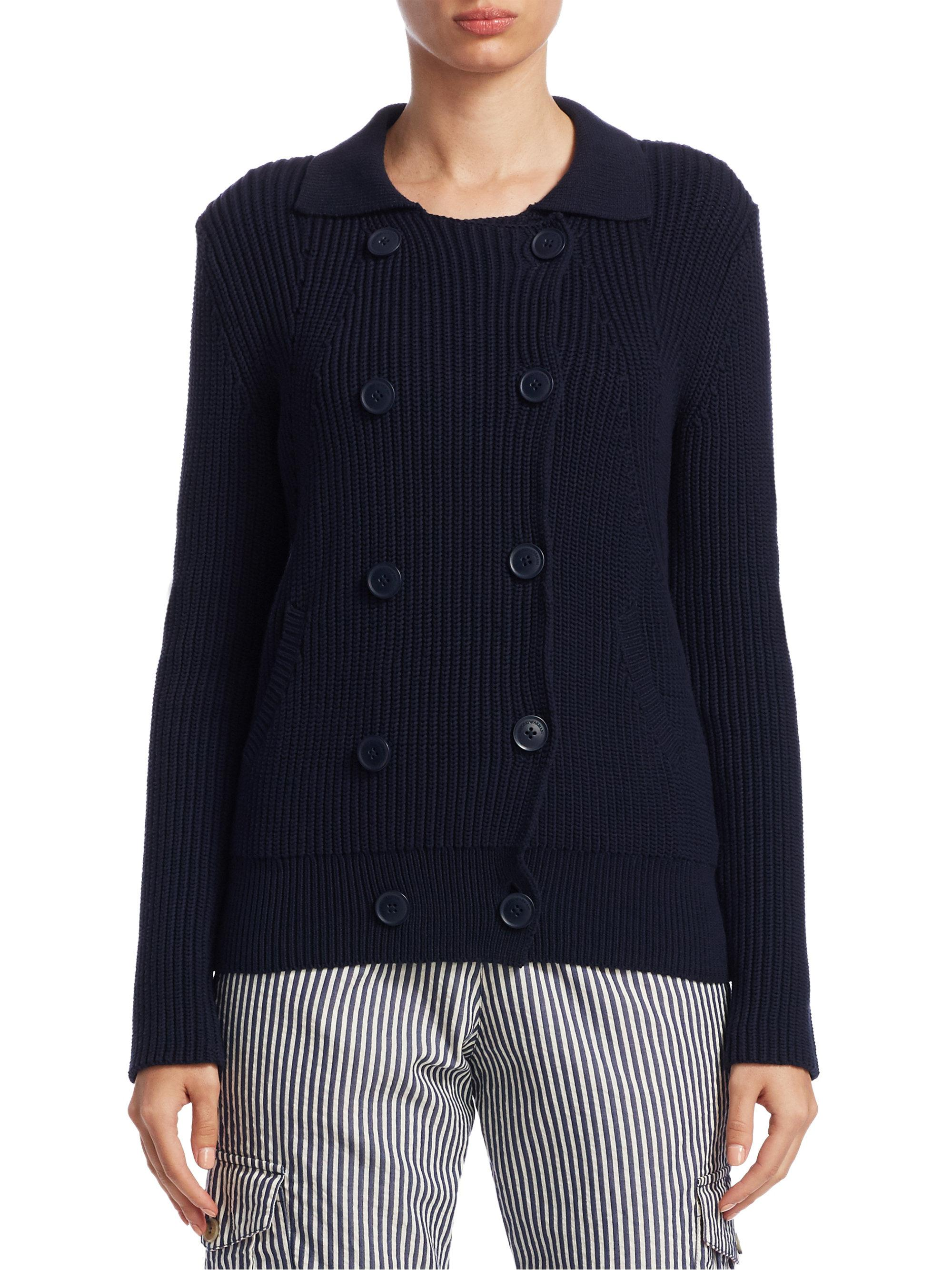Blue Cable Knit Wool Cardigan With Mastercard Online Cheap Sale Prices 100% Original Cheap Sale Buy Really 6WMhZVAAa