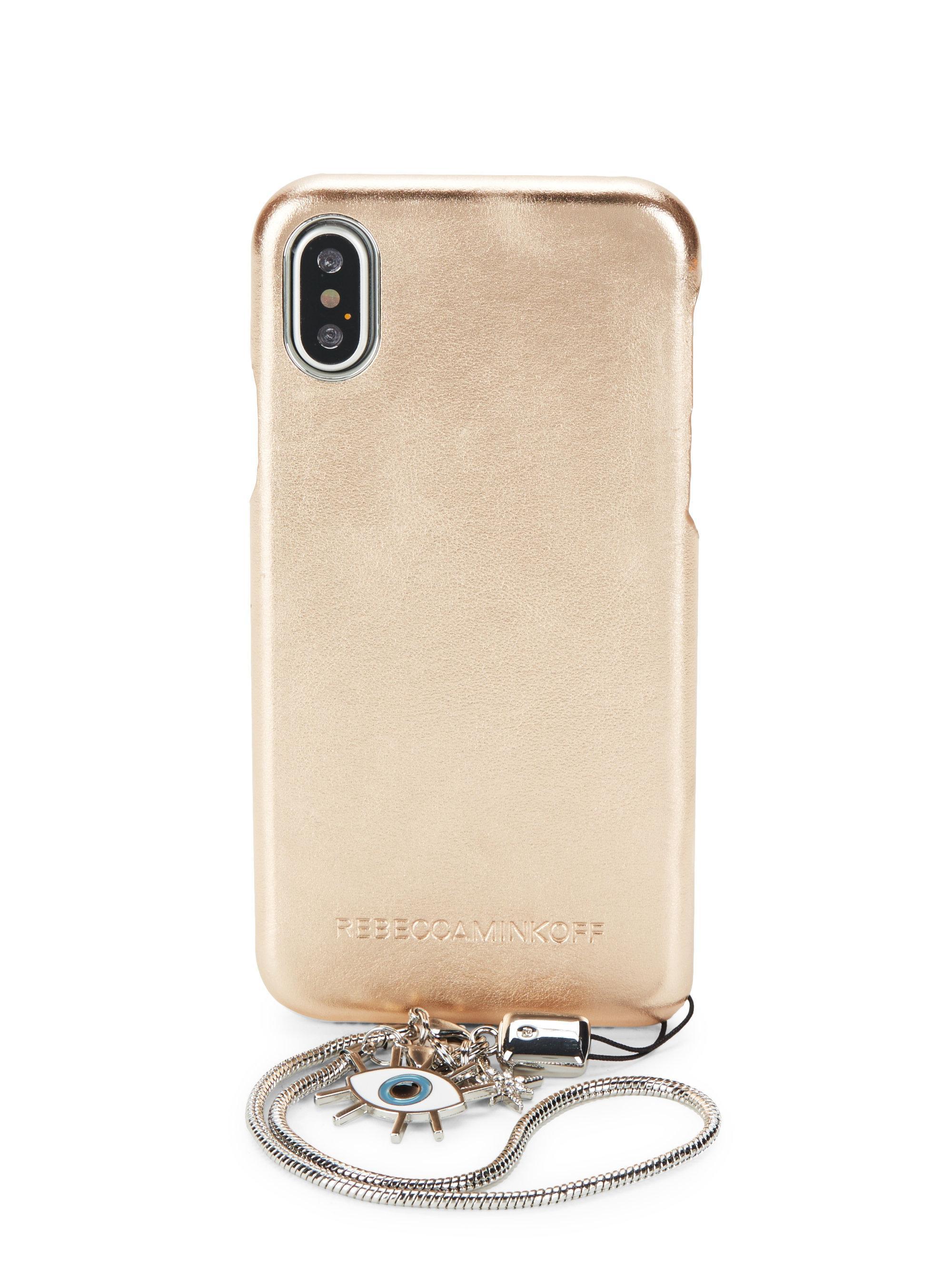129409053 Rebecca Minkoff and Case-Mate have elevated tech accessories to the next  level.Case-Mate x Rebecca Minkoff Universal Fringe Crossbody - Almond.